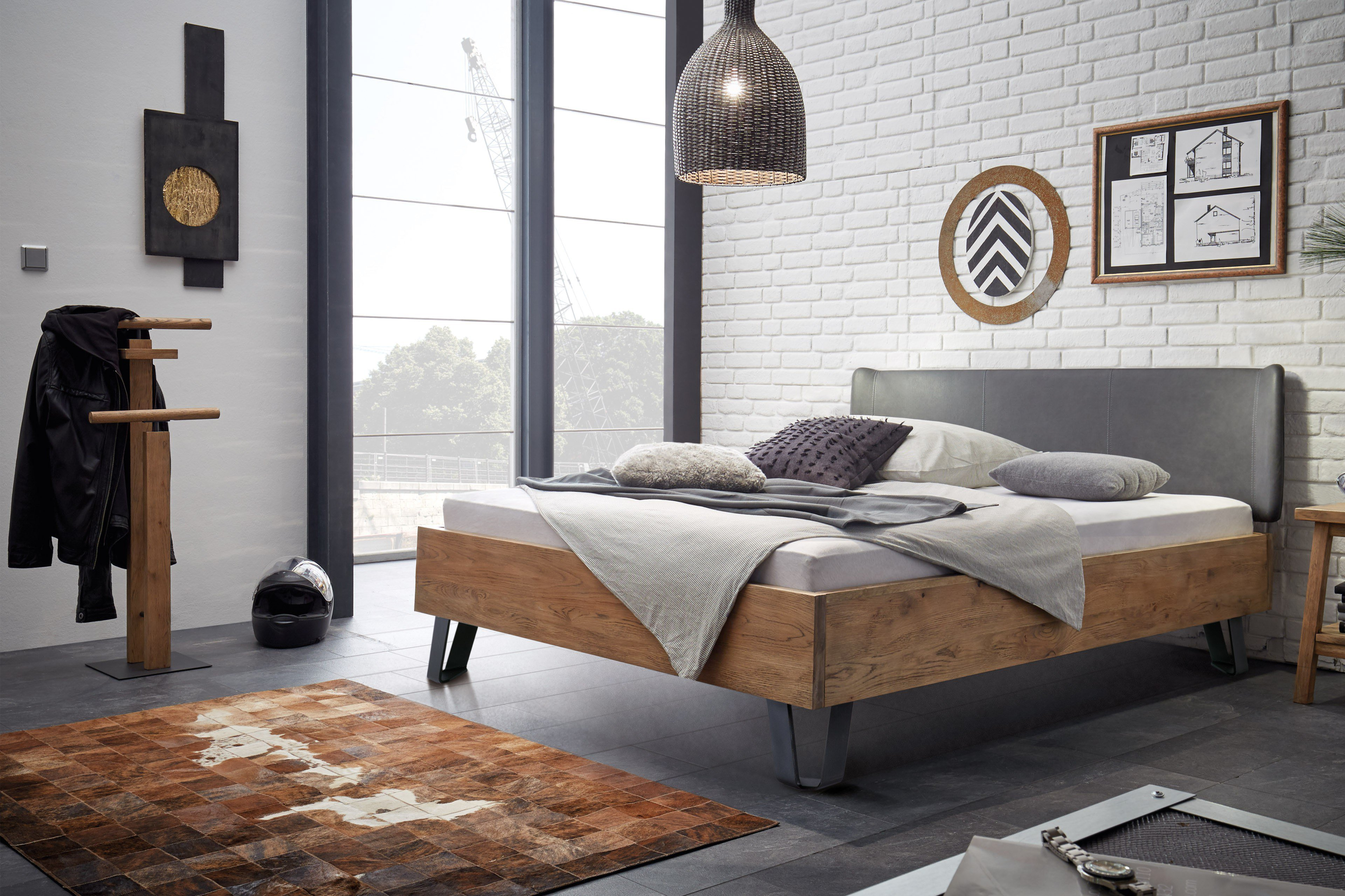 bett industrial bett industrial mood pfister betten industrial design bett altiers ein. Black Bedroom Furniture Sets. Home Design Ideas