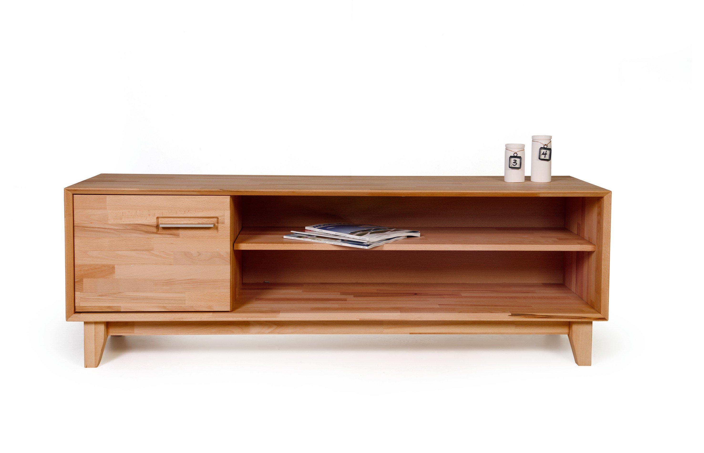 Lowboard Kernbuche Massiv Finest Numero Uno Von Standard Furniture