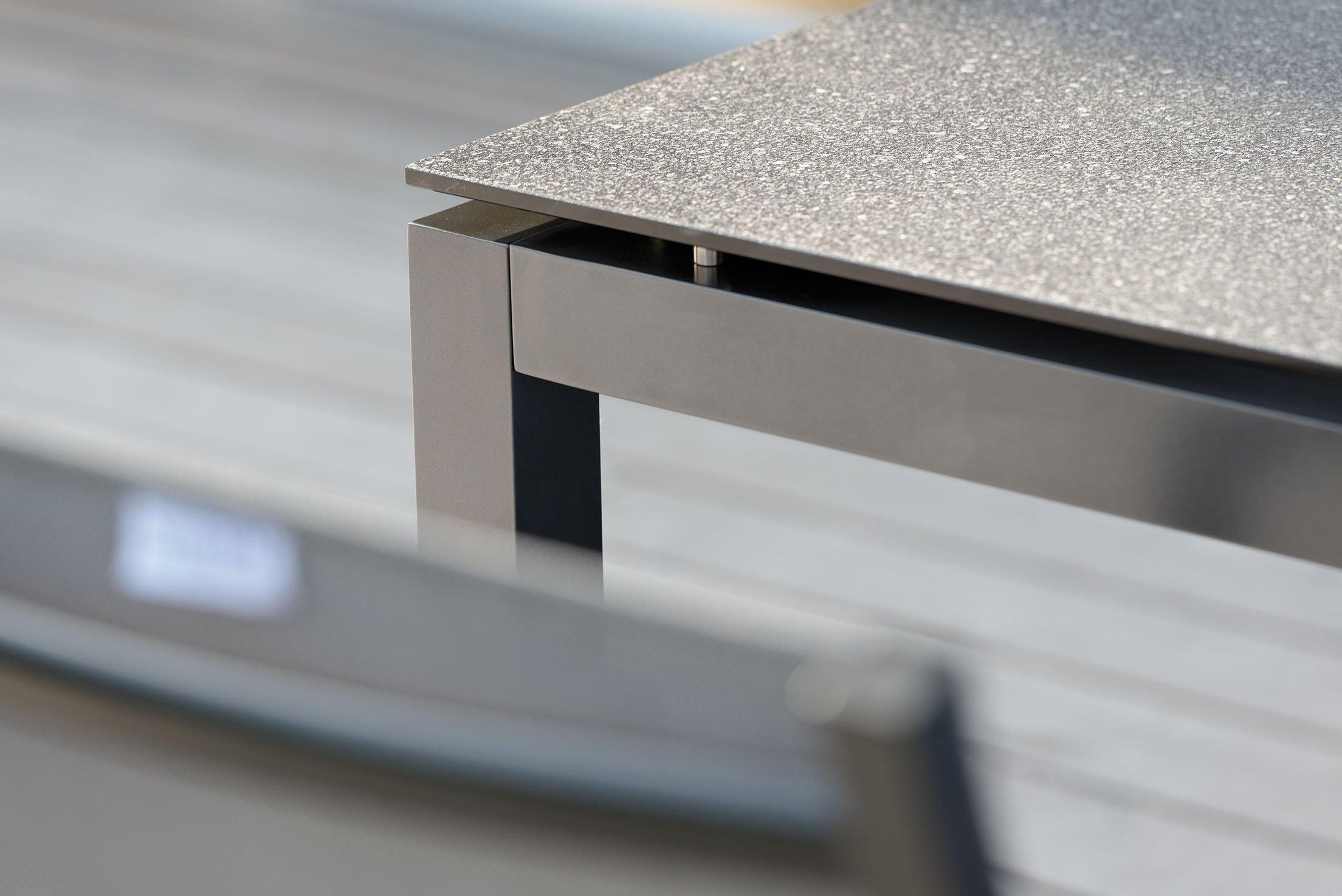 Stern Tischsystem Gartentisch In Starstone Dunkelgrau Mobel Letz