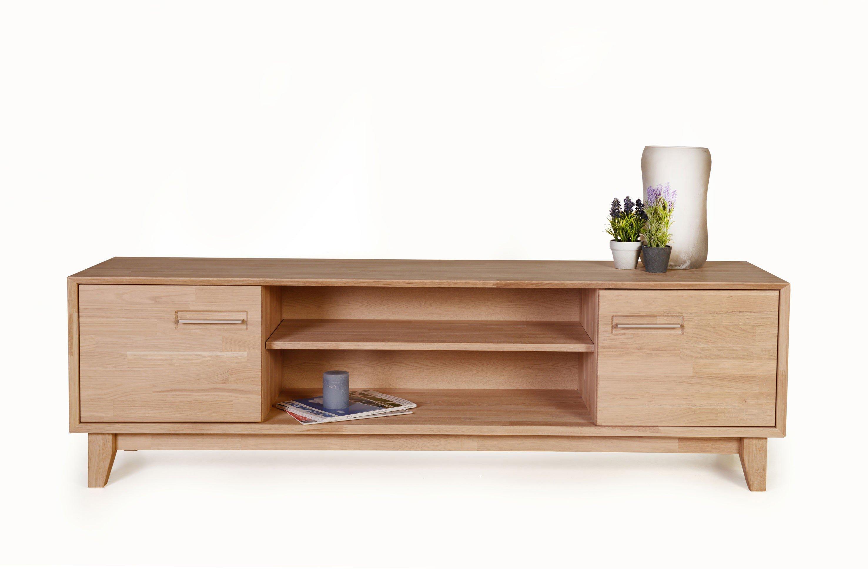 Lowboard eiche  Standard Furniture Lowboard Numero Uno Eiche bianco | Möbel Letz ...