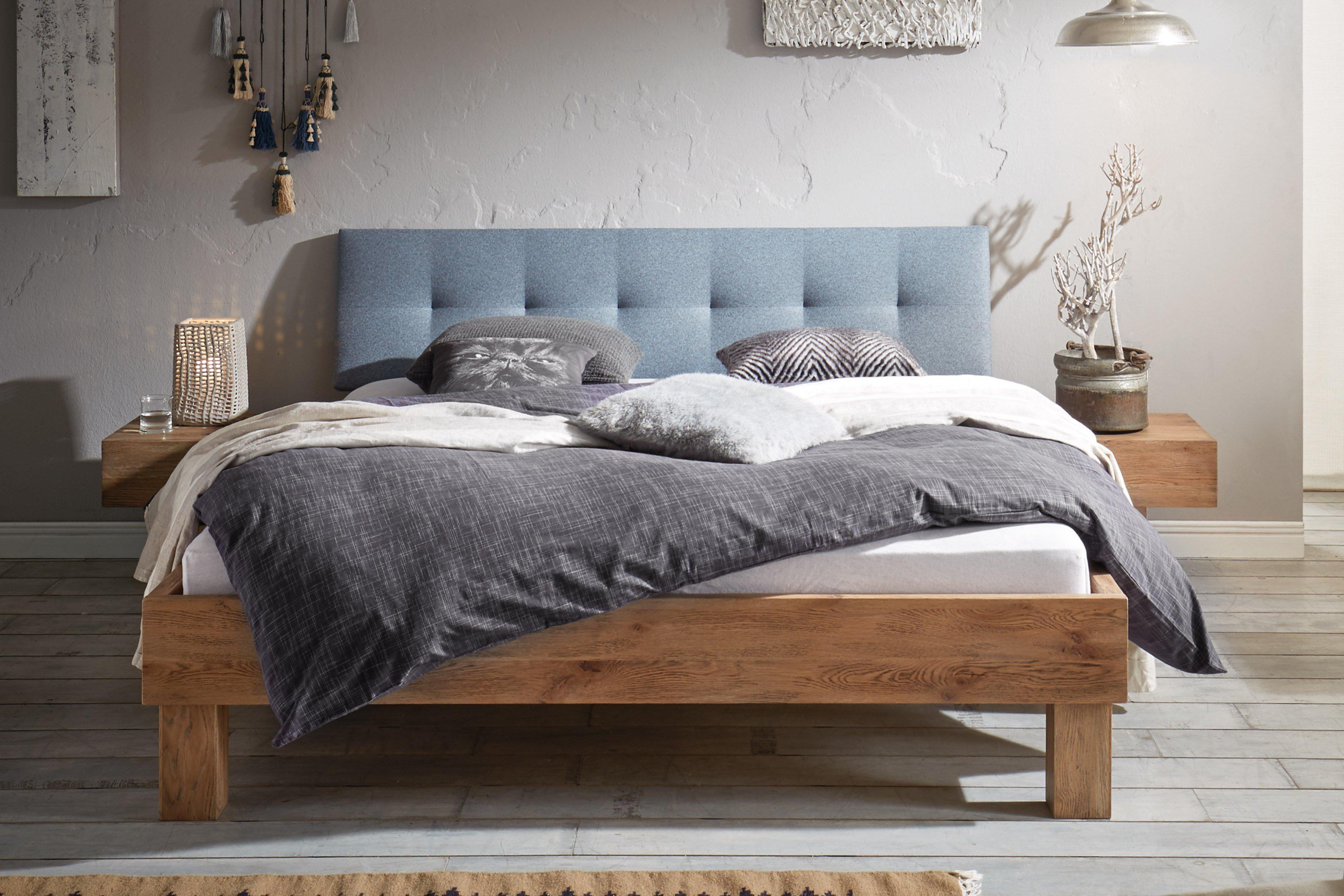 hasena oak vintage bett ivio wildeiche m bel letz ihr online shop. Black Bedroom Furniture Sets. Home Design Ideas