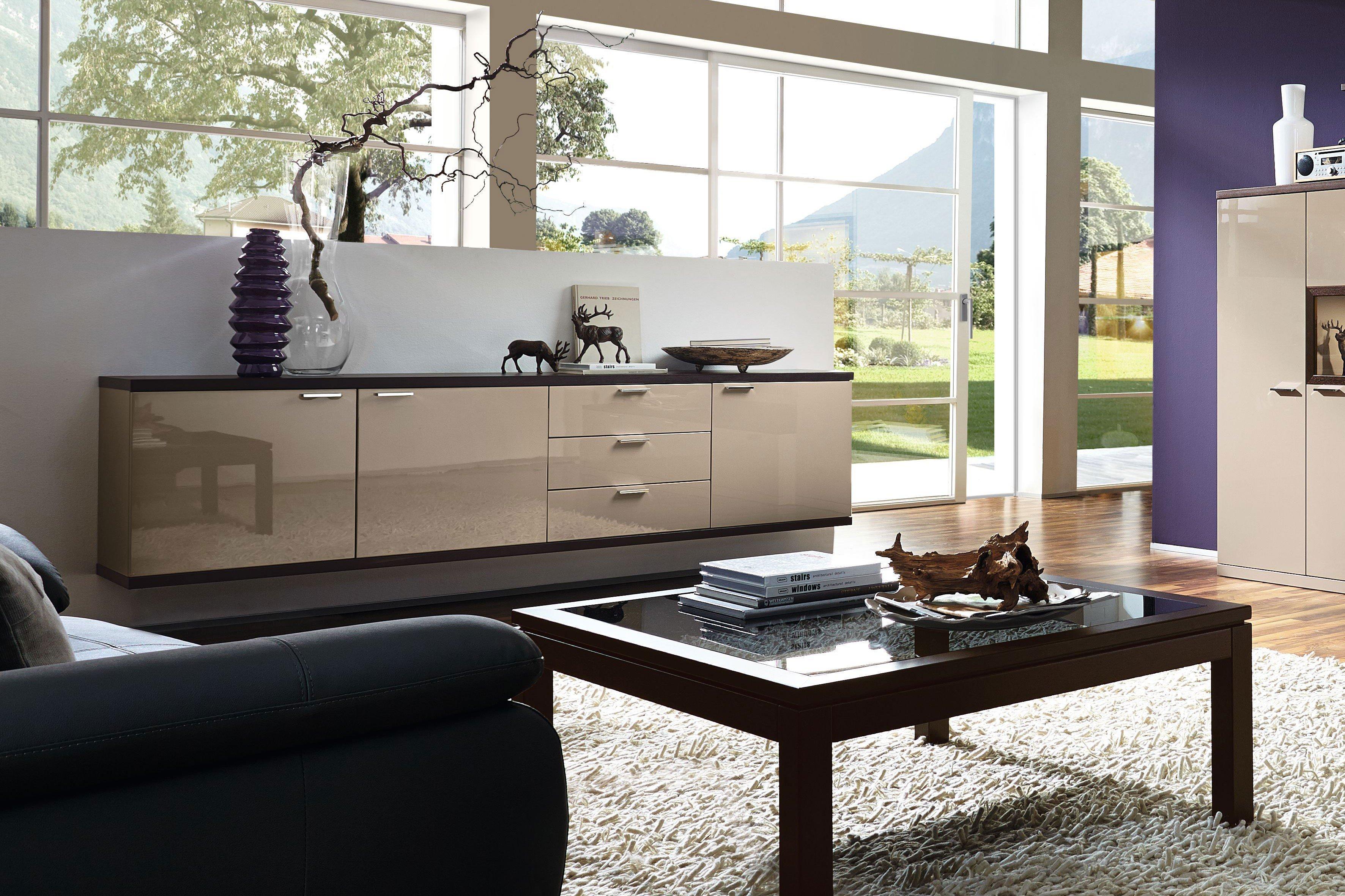 rietberger sideboard siena celesta cappuccino eiche graphit m bel letz ihr online shop. Black Bedroom Furniture Sets. Home Design Ideas