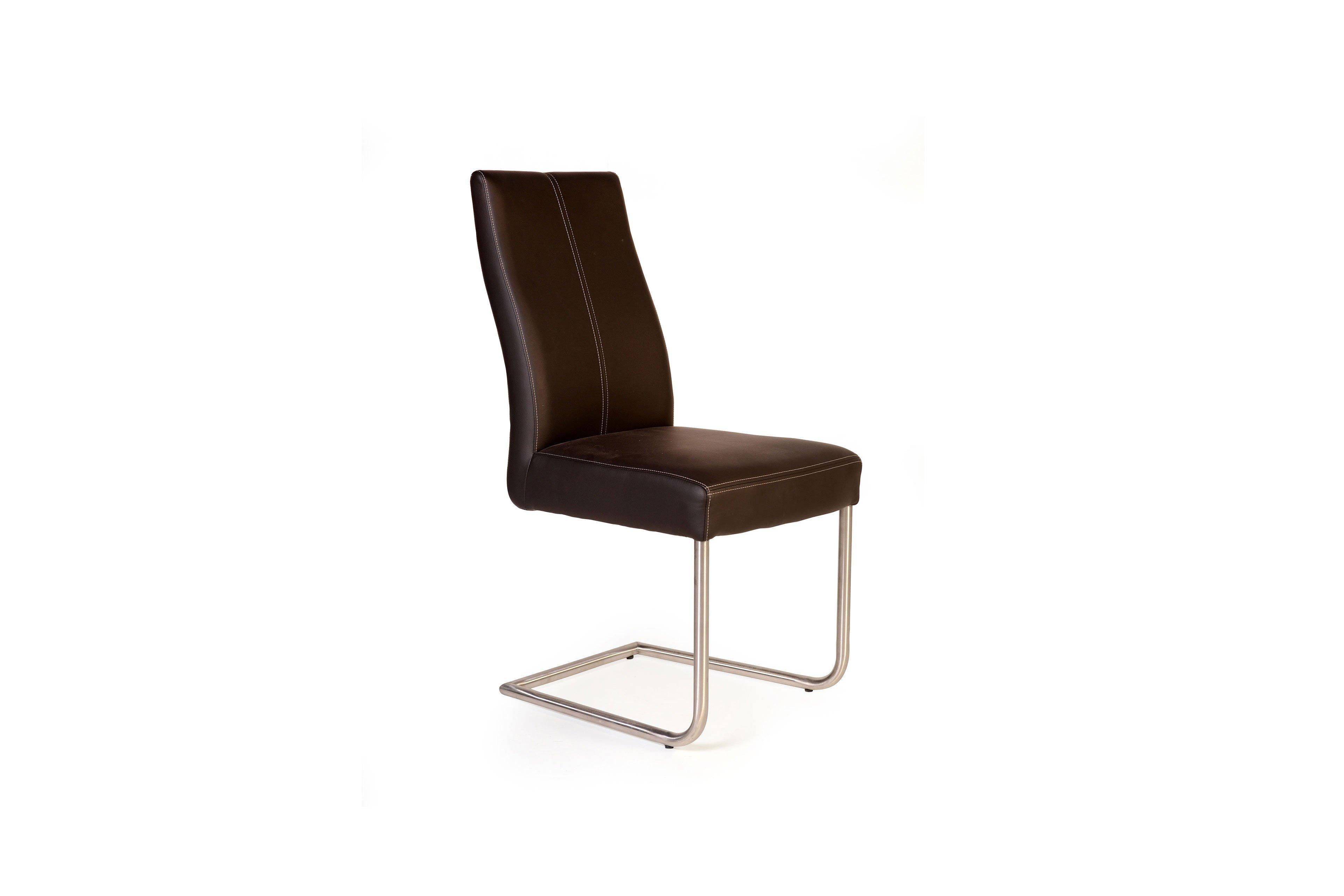 gina von standard furniture freischwinger in braun