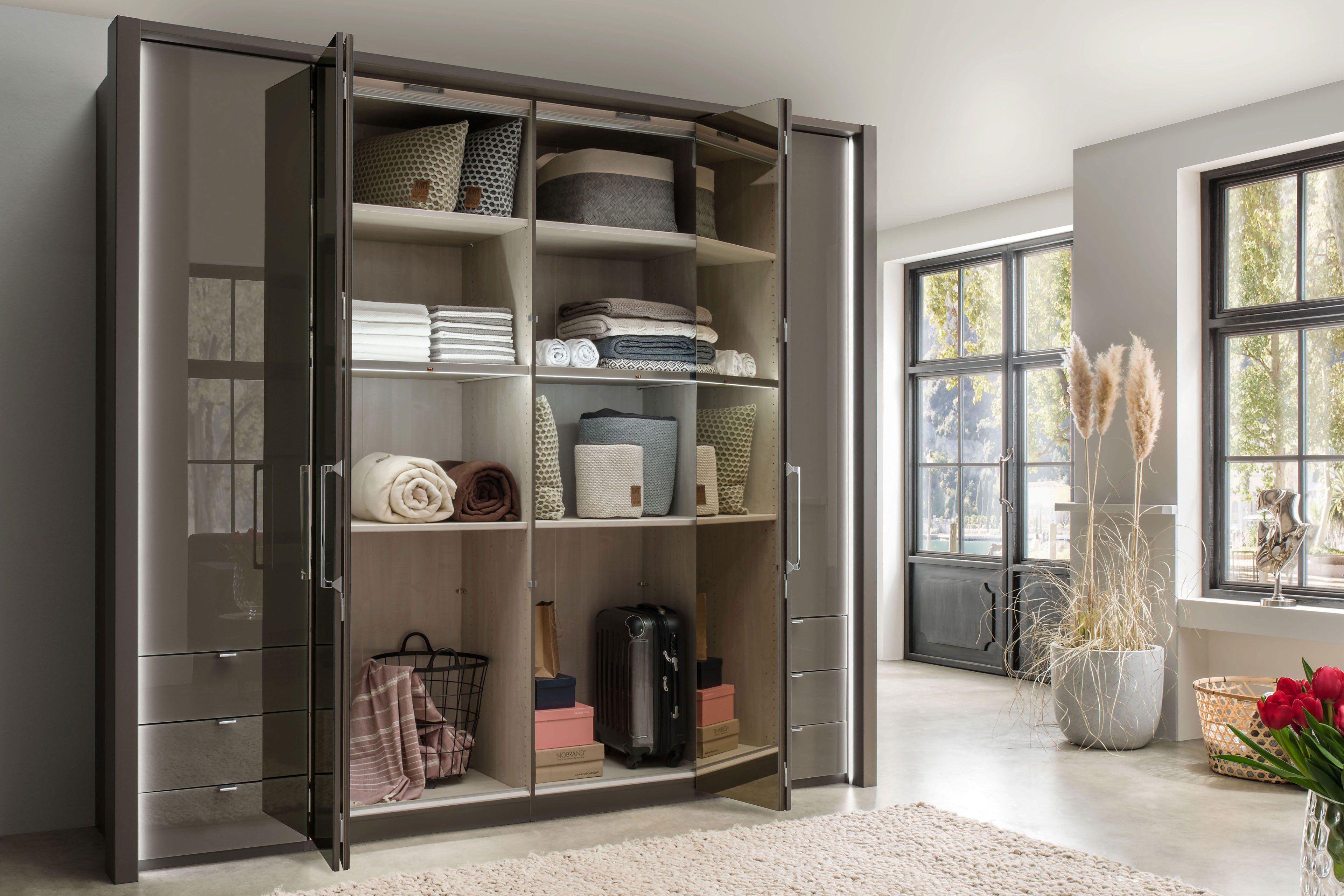wiemann kansas schrank havanna kristallspiegel m bel letz ihr online shop. Black Bedroom Furniture Sets. Home Design Ideas