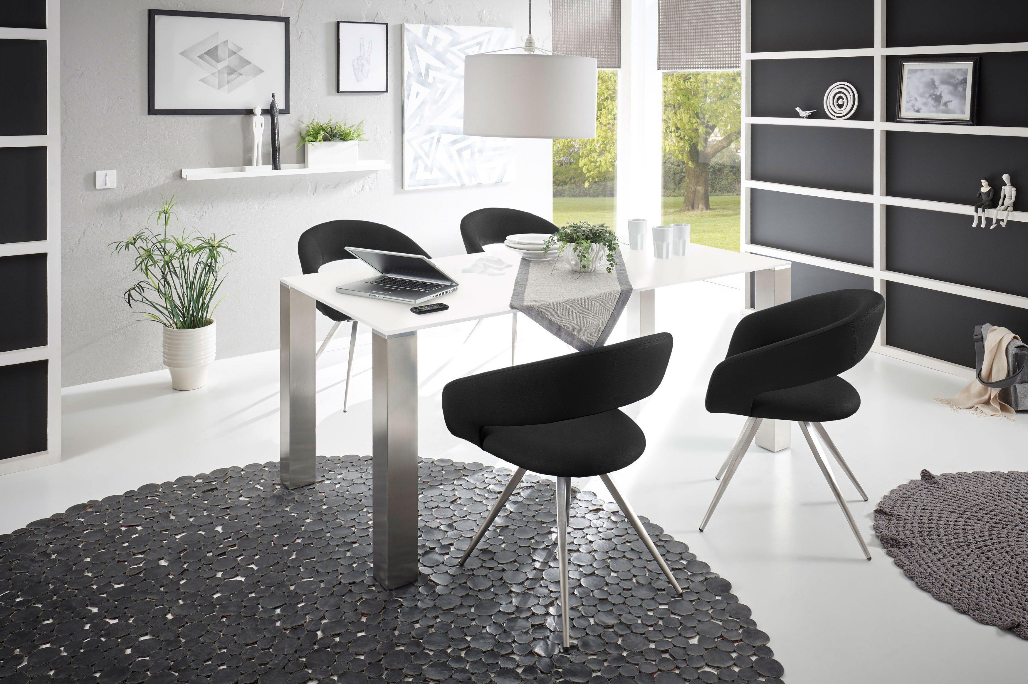 Luana/ London Von MWA Aktuell   Esszimmer Keramik Weiß/ Coal