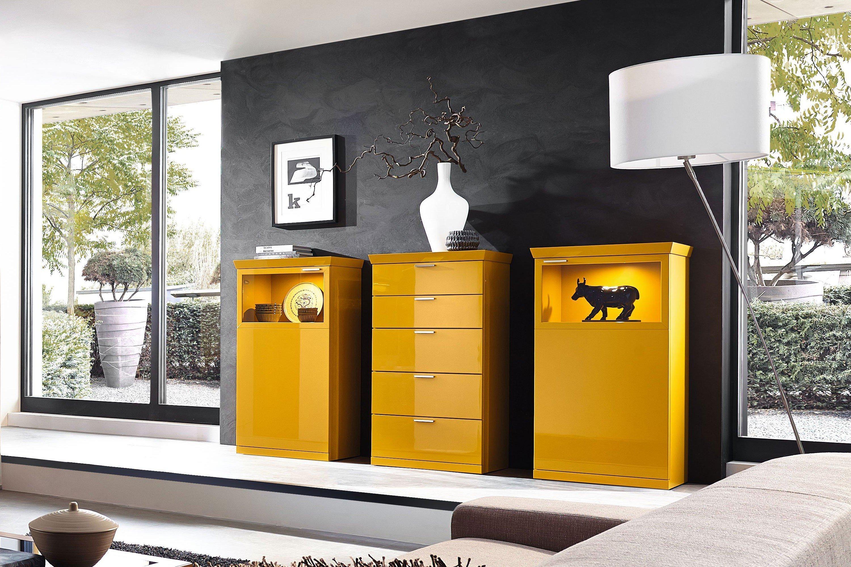 Hulsta kommode gelb kreative ideen f r innendekoration for Kommode gelb