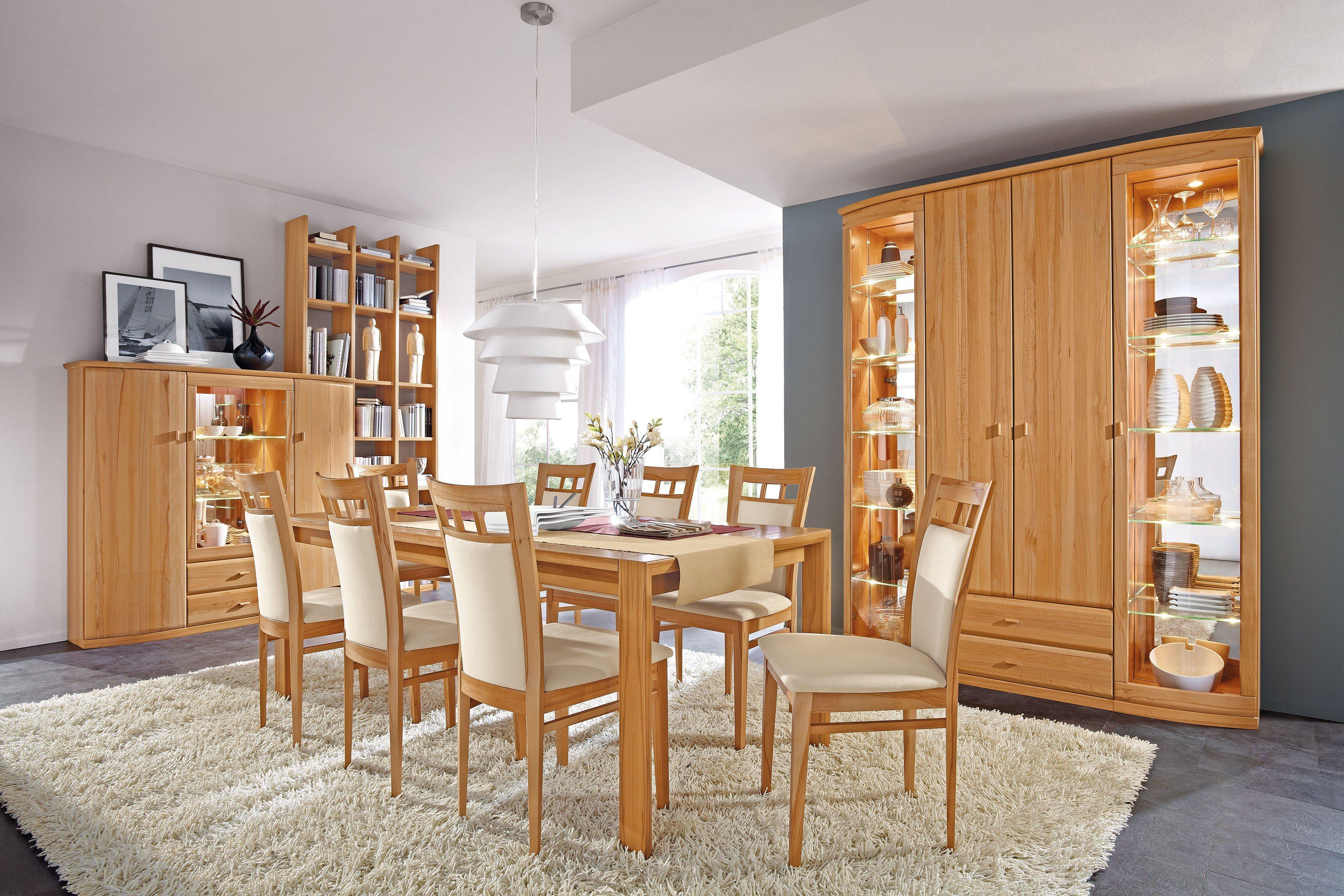 rietberger esszimmer lando kernbuche m bel letz ihr online shop. Black Bedroom Furniture Sets. Home Design Ideas