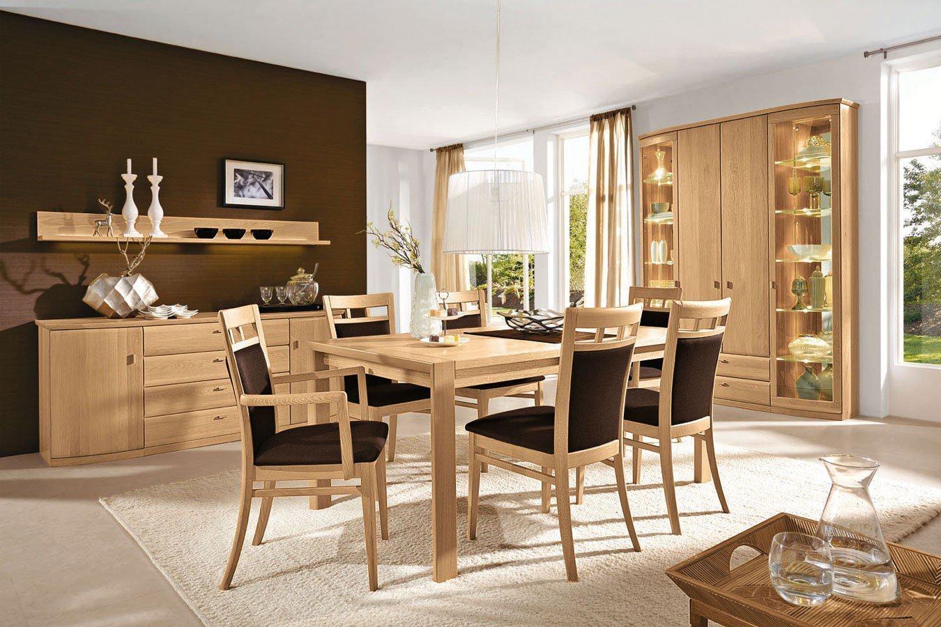 Möbel Für Esszimmer : Rietberger esszimmer lando eiche sand möbel letz ihr online shop