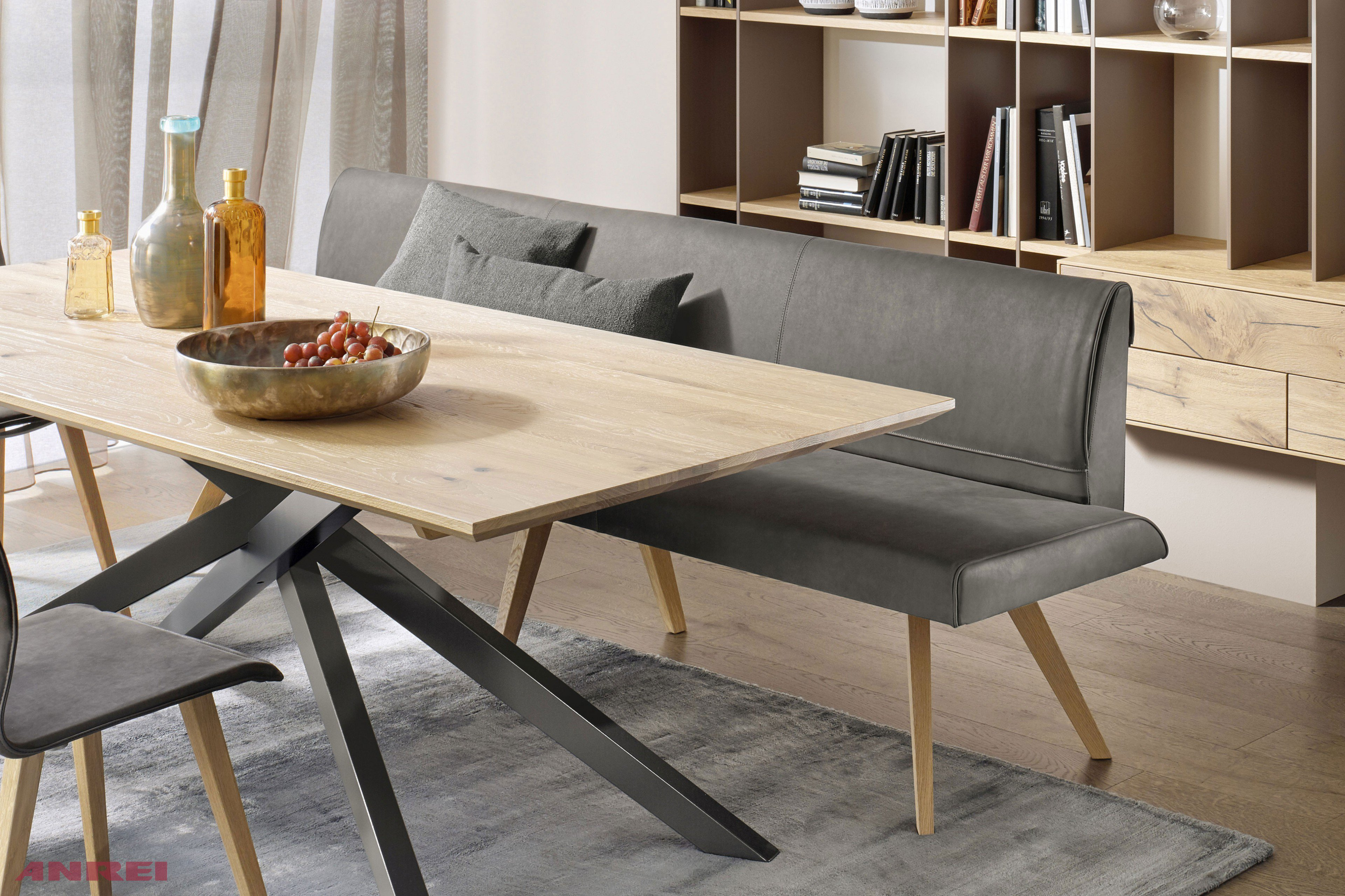 anrei esszimmer metro asteiche geb rstet m bel letz. Black Bedroom Furniture Sets. Home Design Ideas