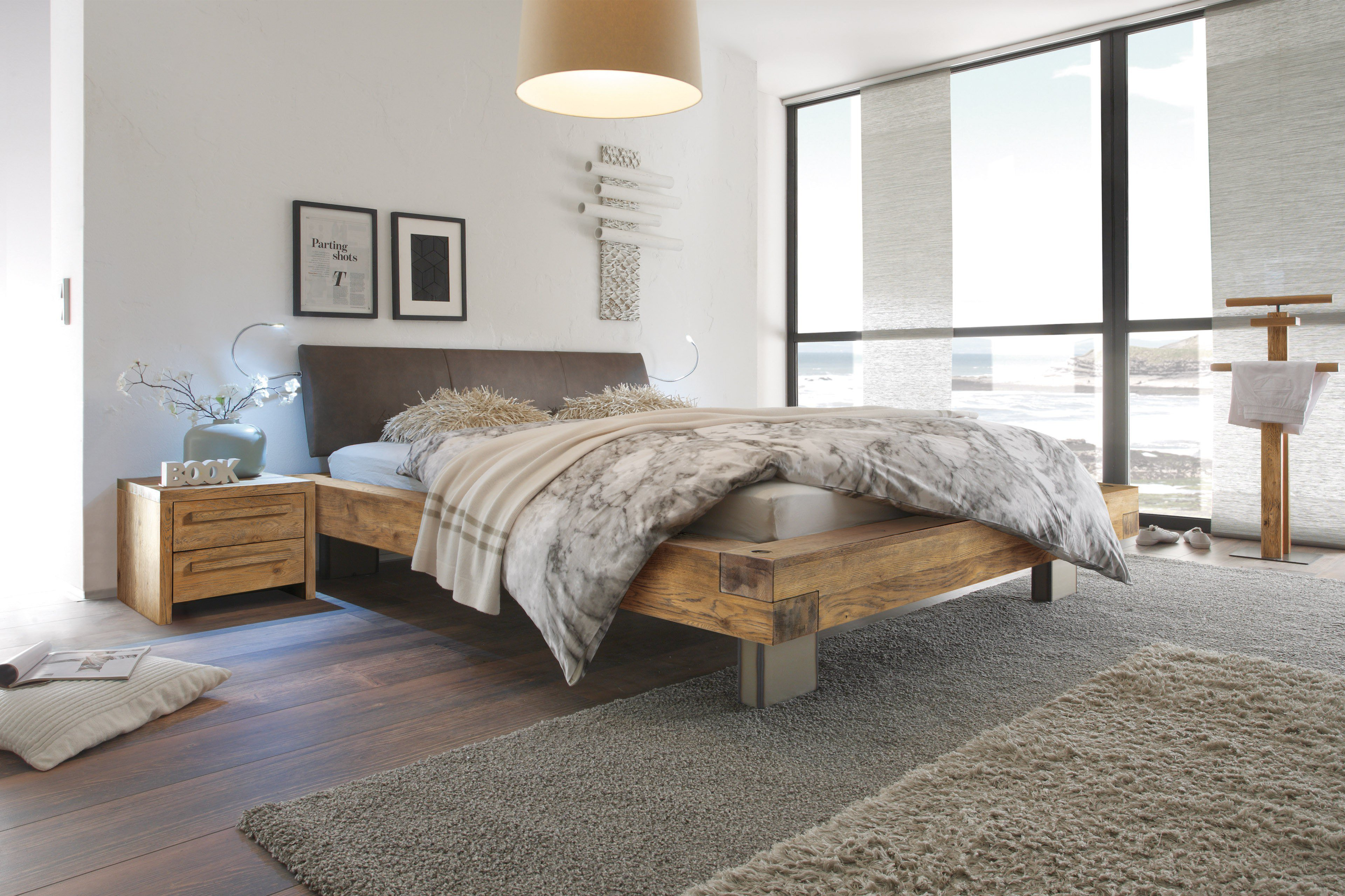 Hasena Oak-Vintage Bett Quada Wildeiche | Möbel Letz - Ihr Online-Shop