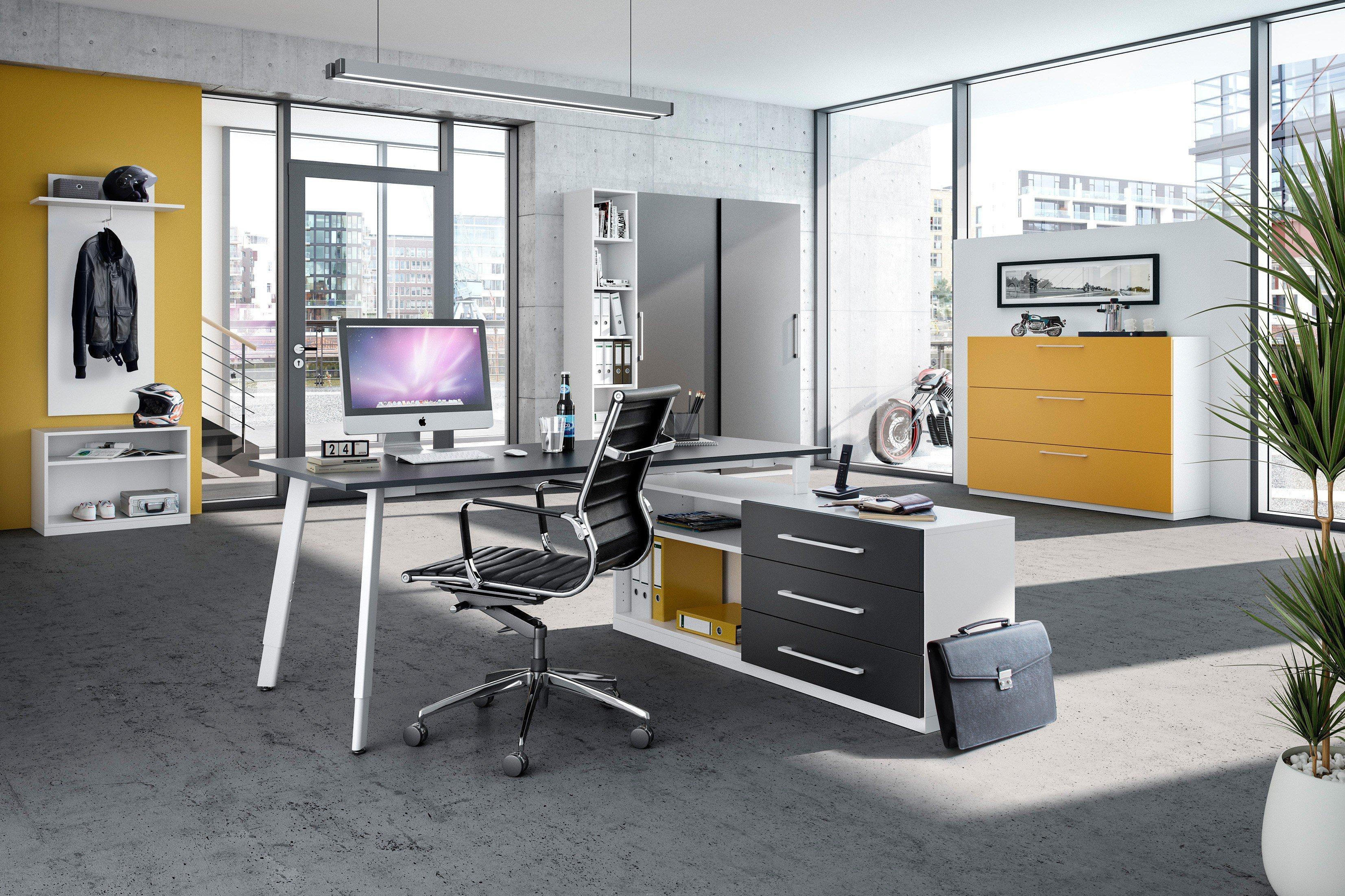 r hr b rom bel wei anthrazit m bel letz. Black Bedroom Furniture Sets. Home Design Ideas