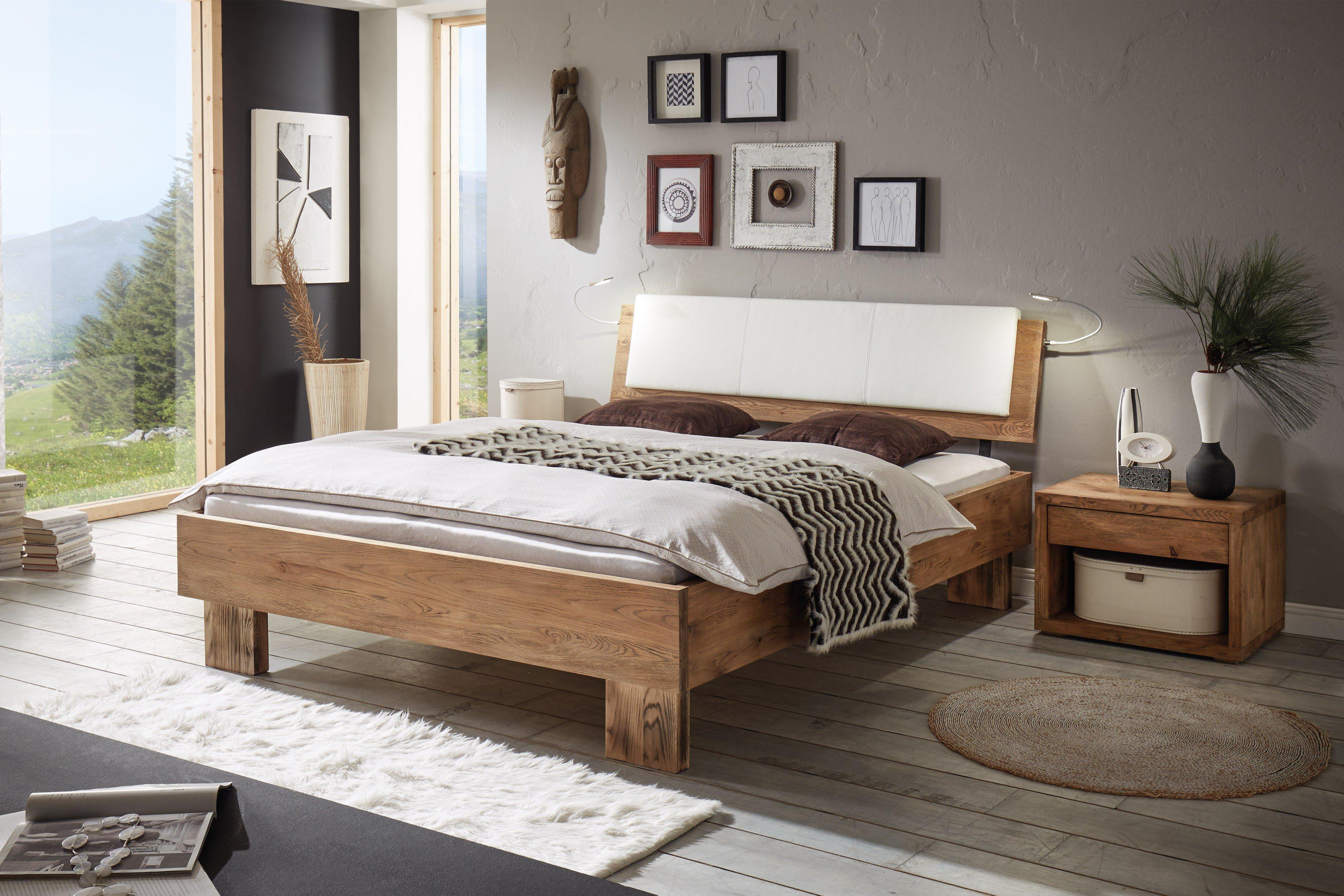 hasena oak vintage bett tava wildeiche m bel letz ihr online shop. Black Bedroom Furniture Sets. Home Design Ideas