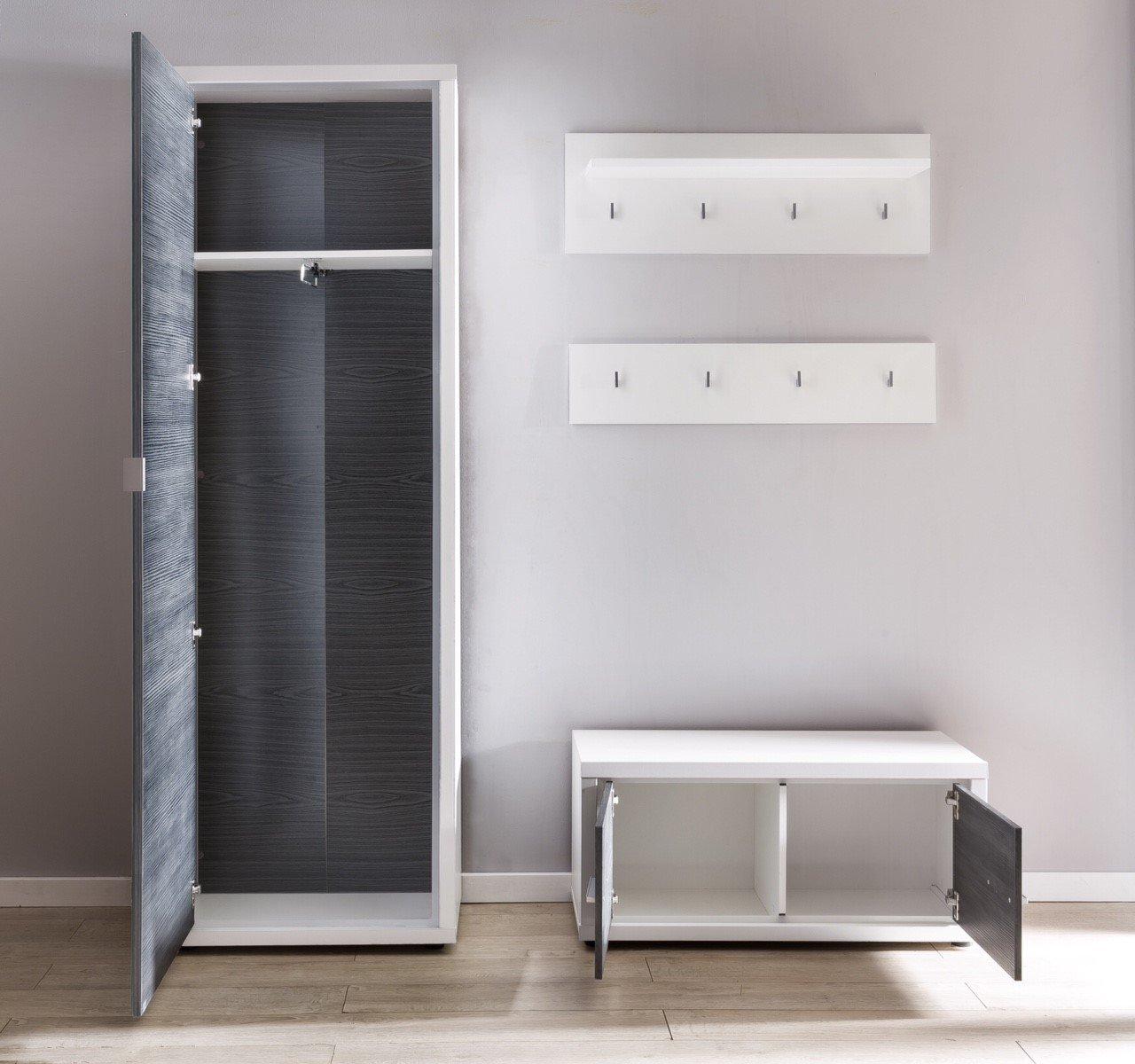 forestdream garderobe light inkl beleuchtung m bel letz ihr online shop. Black Bedroom Furniture Sets. Home Design Ideas