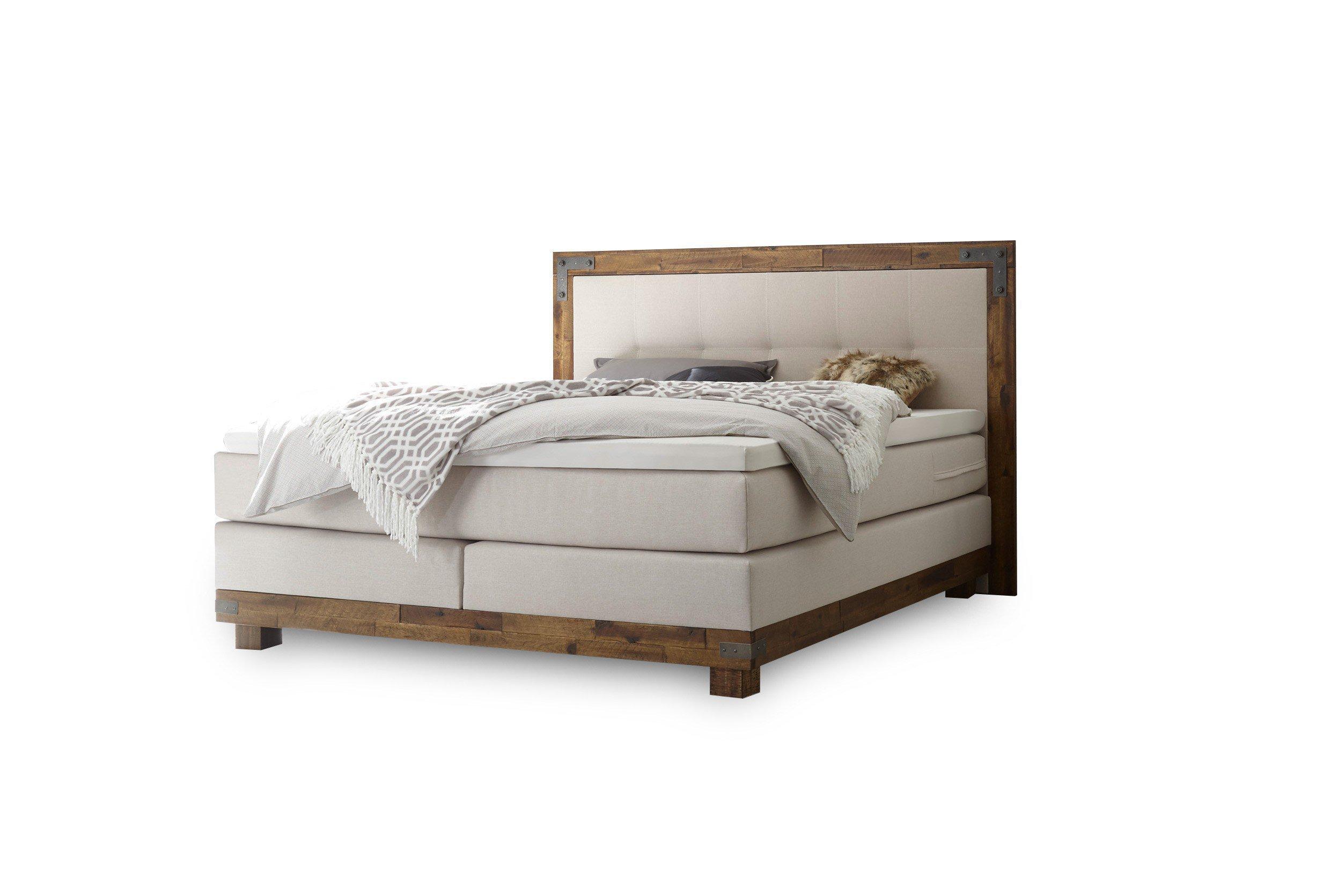 hasena pronto chicago boxspringbett inklusive topper m bel letz ihr online shop. Black Bedroom Furniture Sets. Home Design Ideas