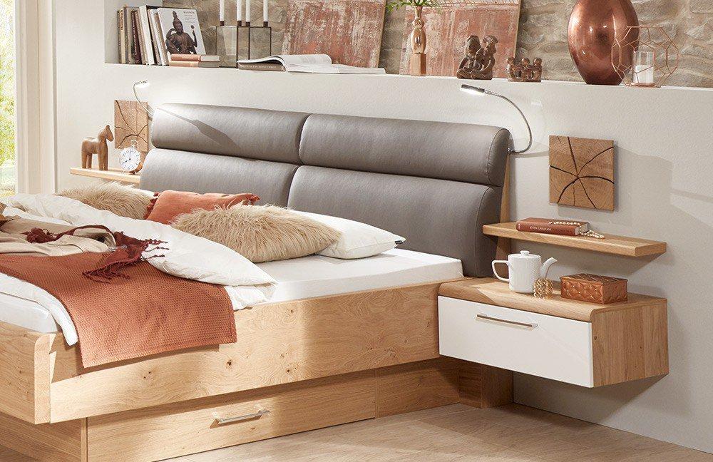 Disselkamp Schlafzimmer Wildeiche/ weiß  Möbel Letz - Ihr Online-Shop