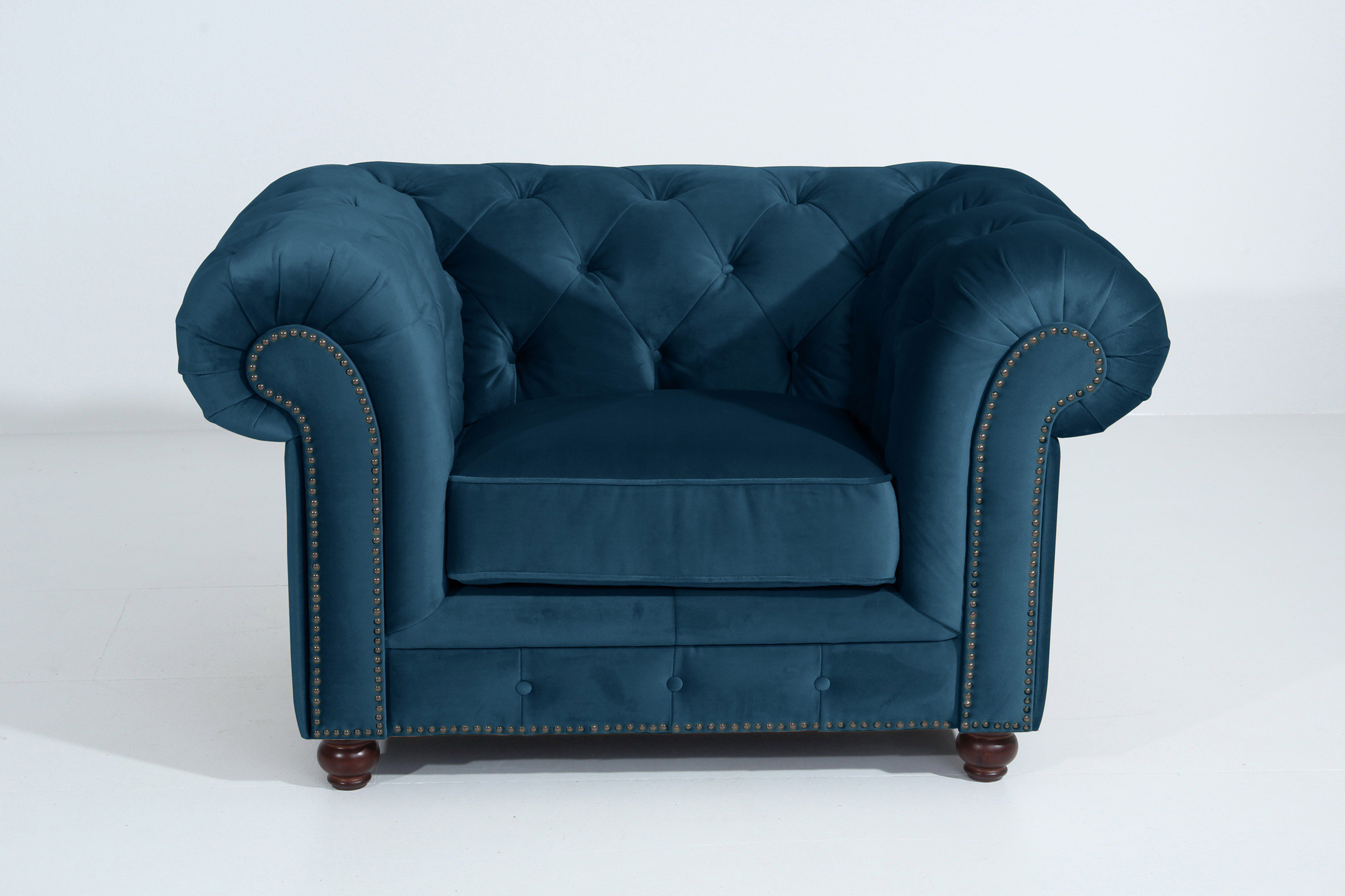 Max Winzer Orleans Chesterfield Sofa Blau Mobel Letz Ihr Online Shop