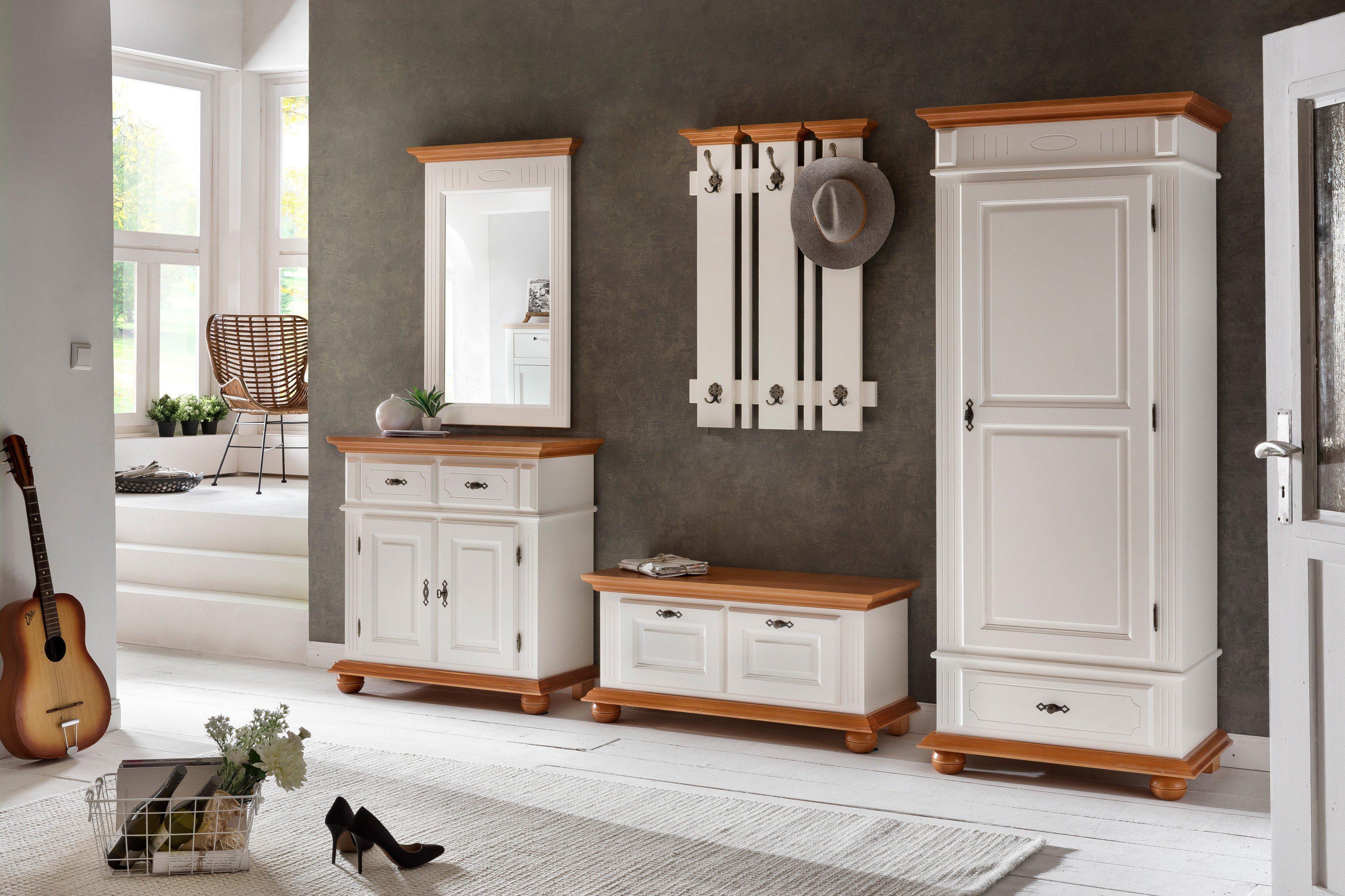 forestdream garderobe natura fichte massiv m bel letz. Black Bedroom Furniture Sets. Home Design Ideas