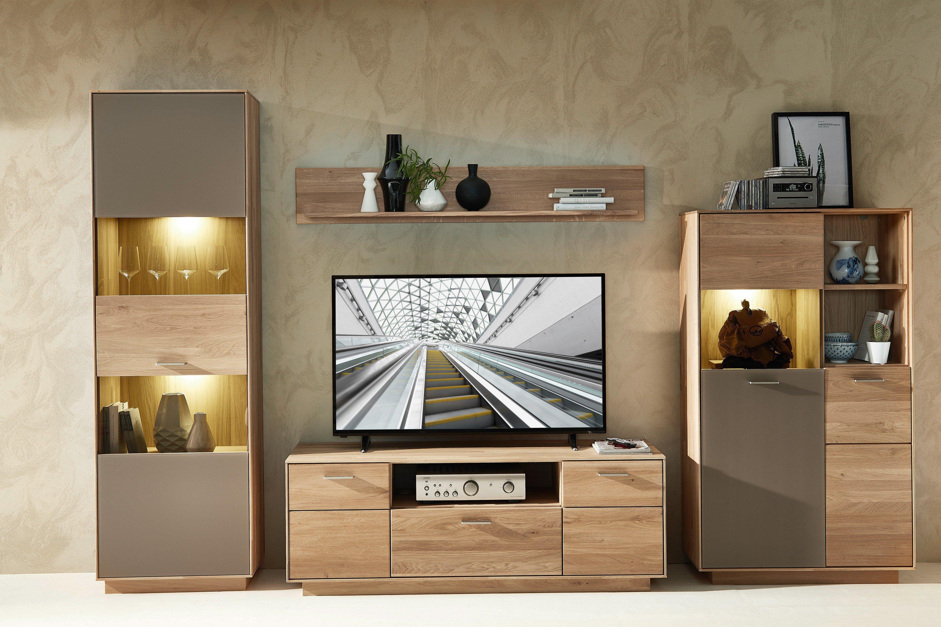 Linea concept wohnwand jeanne and jerome - Casada mobel wohnzimmer ...