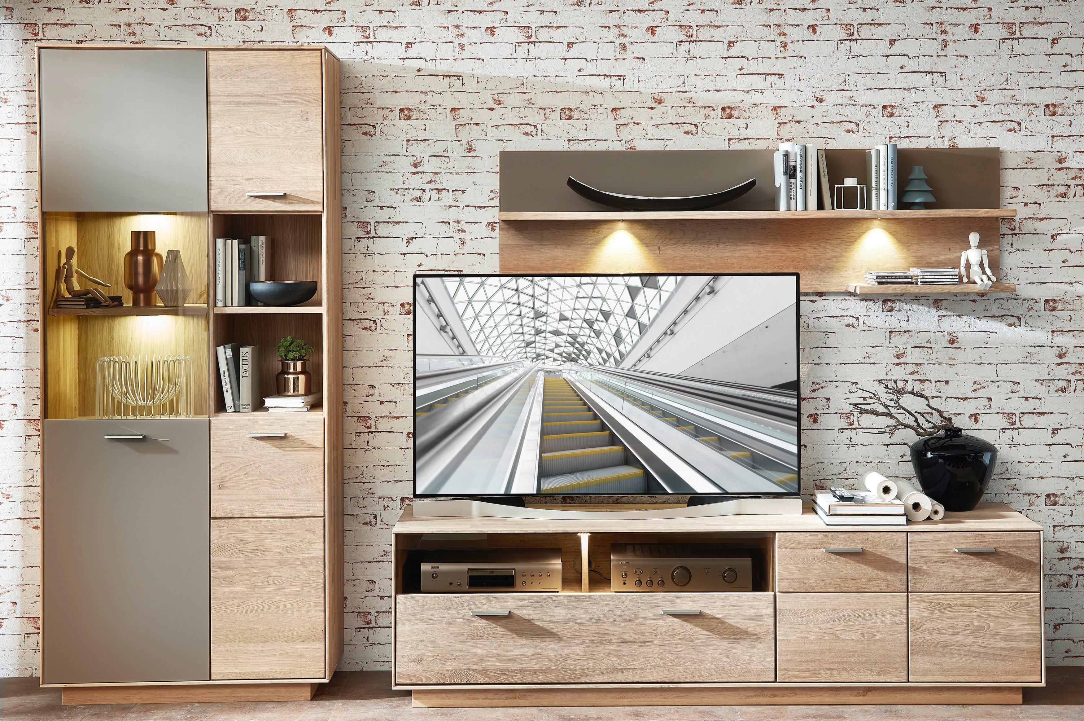 3eb878b939a4d8 Wohn-Concept Wohnwand Topaz Eiche | Möbel Letz - Ihr Online-Shop
