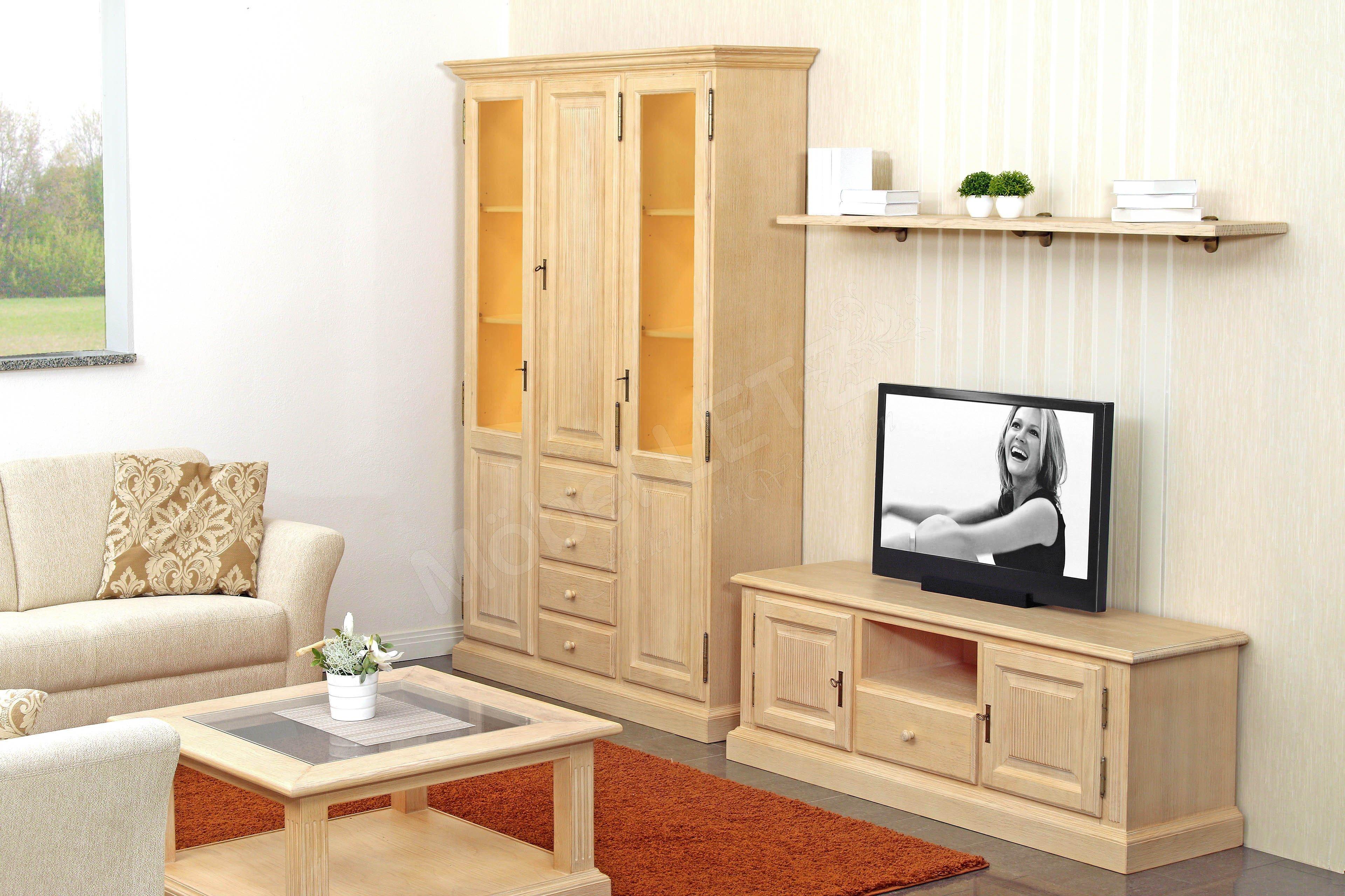 rojas mobiliario wohnwand cadiz mit beleuchtung m bel letz ihr online shop. Black Bedroom Furniture Sets. Home Design Ideas