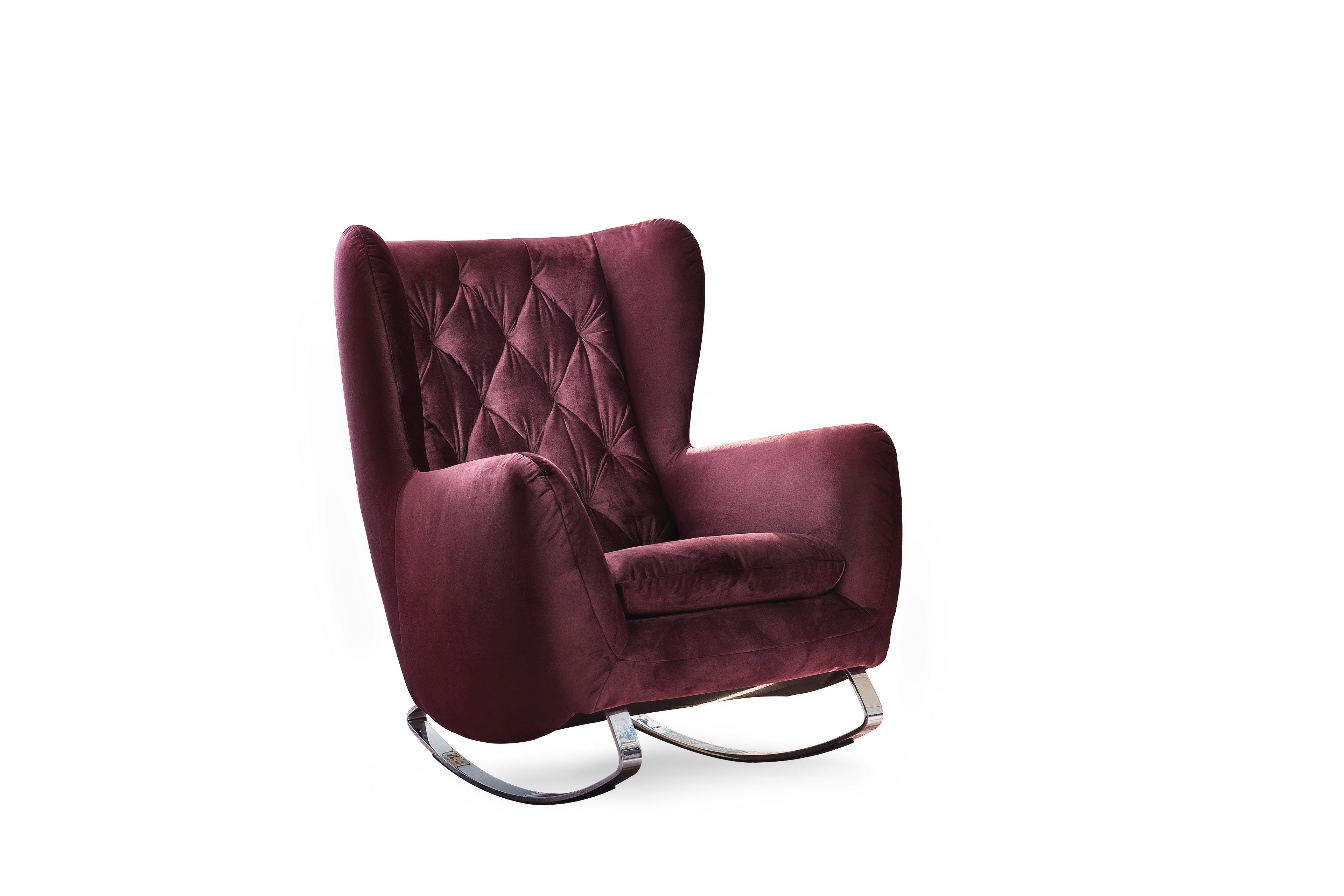 candy polsterm bel sixty scranton schaukelsessel purple m bel letz ihr online shop. Black Bedroom Furniture Sets. Home Design Ideas
