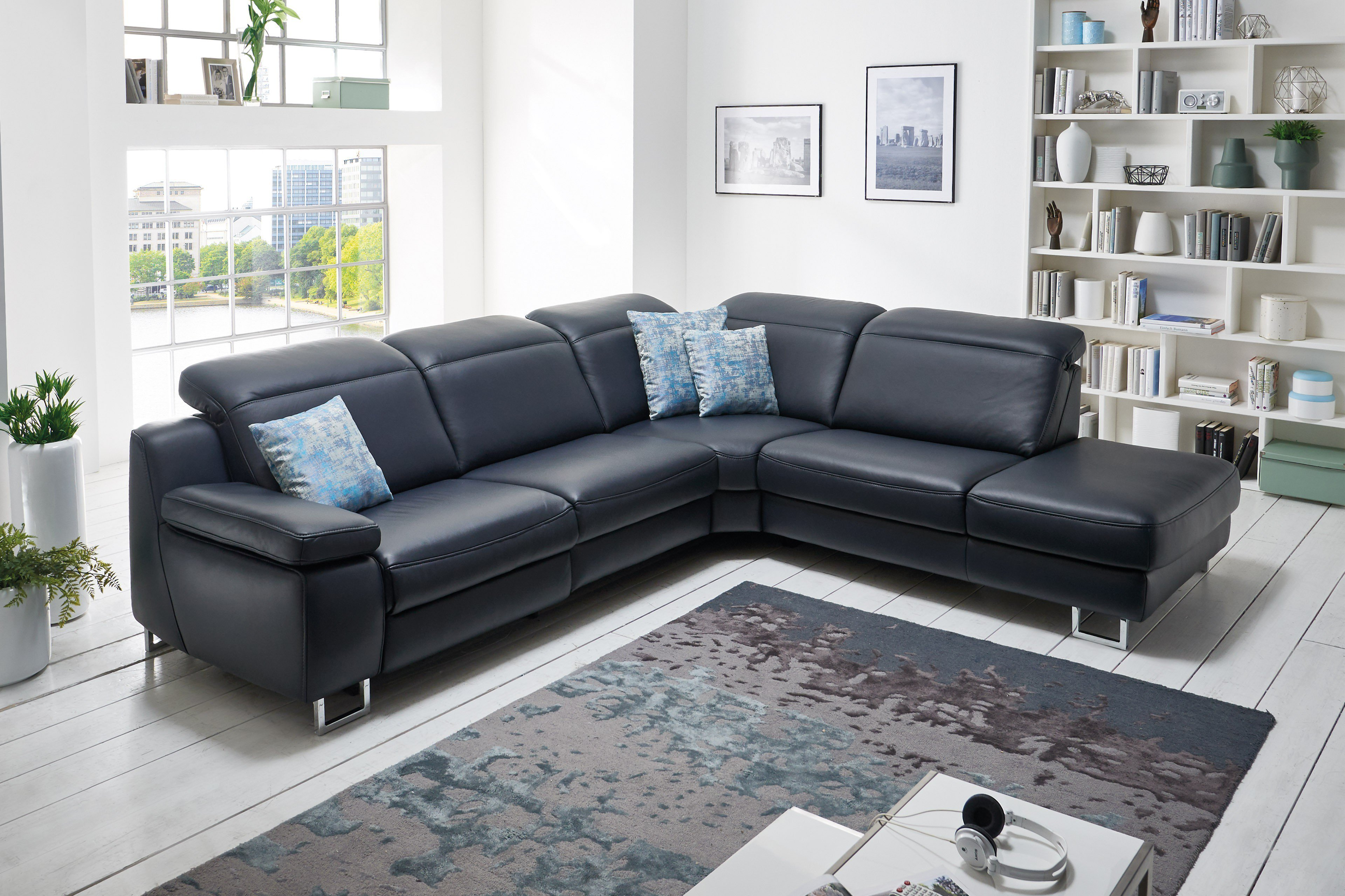 Hukla sofa leder - Mobel de wohnlandschaft ...