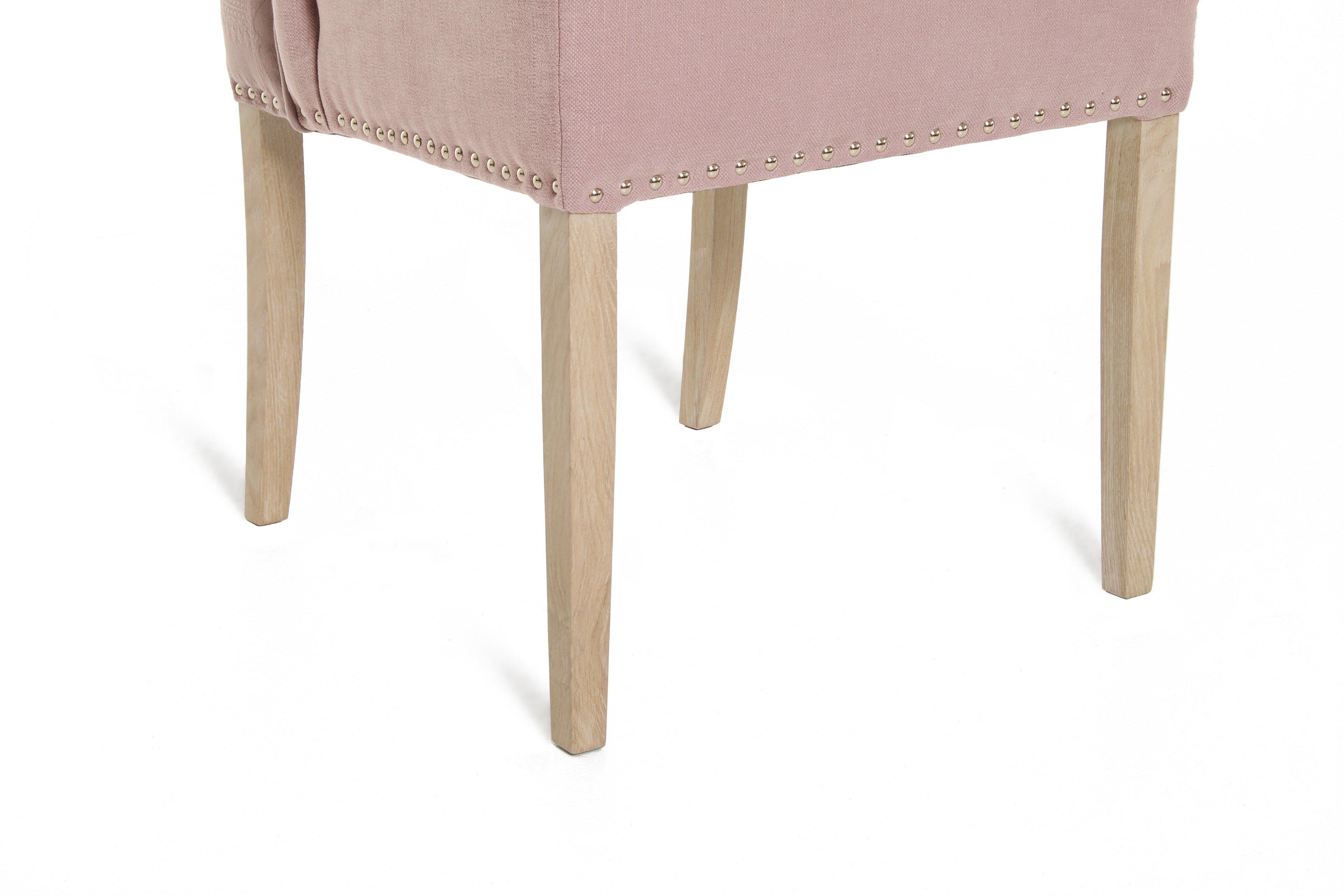 ... Lucca Von Primavera   Stuhl In Rosa/ Eiche Weiß Gebürstet