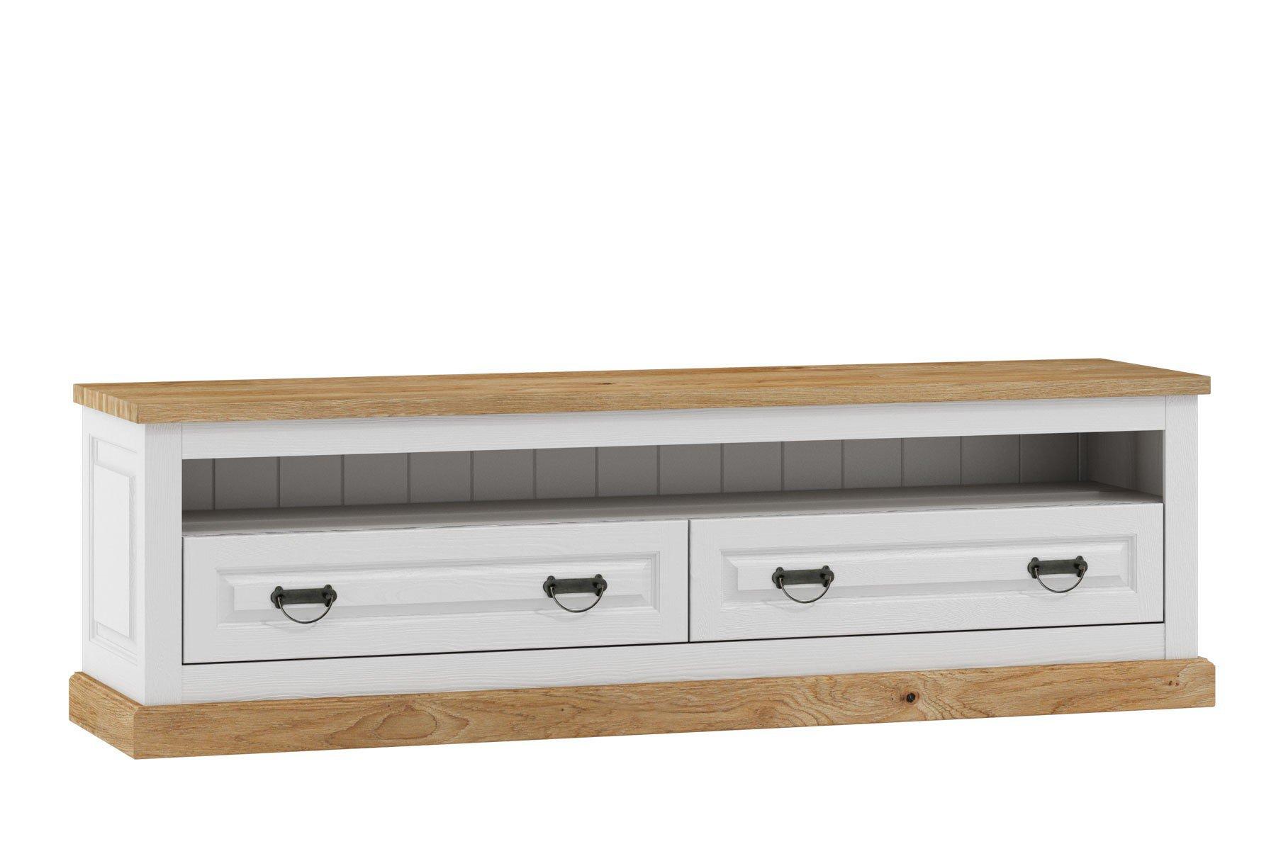 kollektion letz lowboard romantica aus massiver kiefer. Black Bedroom Furniture Sets. Home Design Ideas