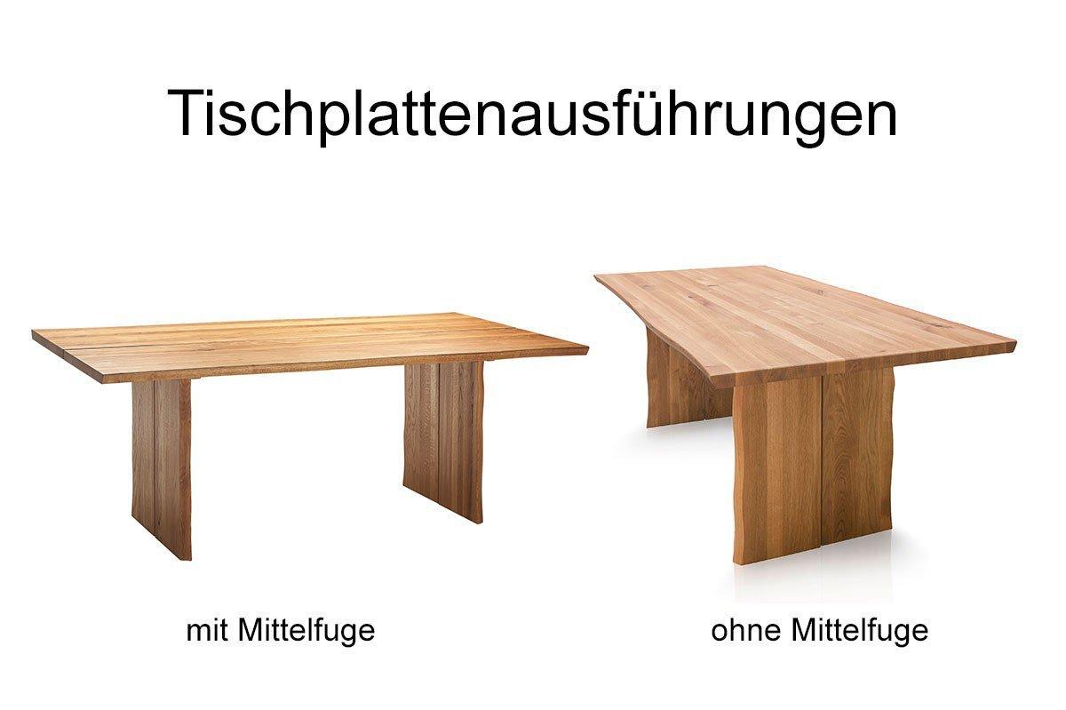 SCHÖSSWENDER Tisch »Oviedo 2«, 4 cm starke Tischplatte online kaufen | OTTO