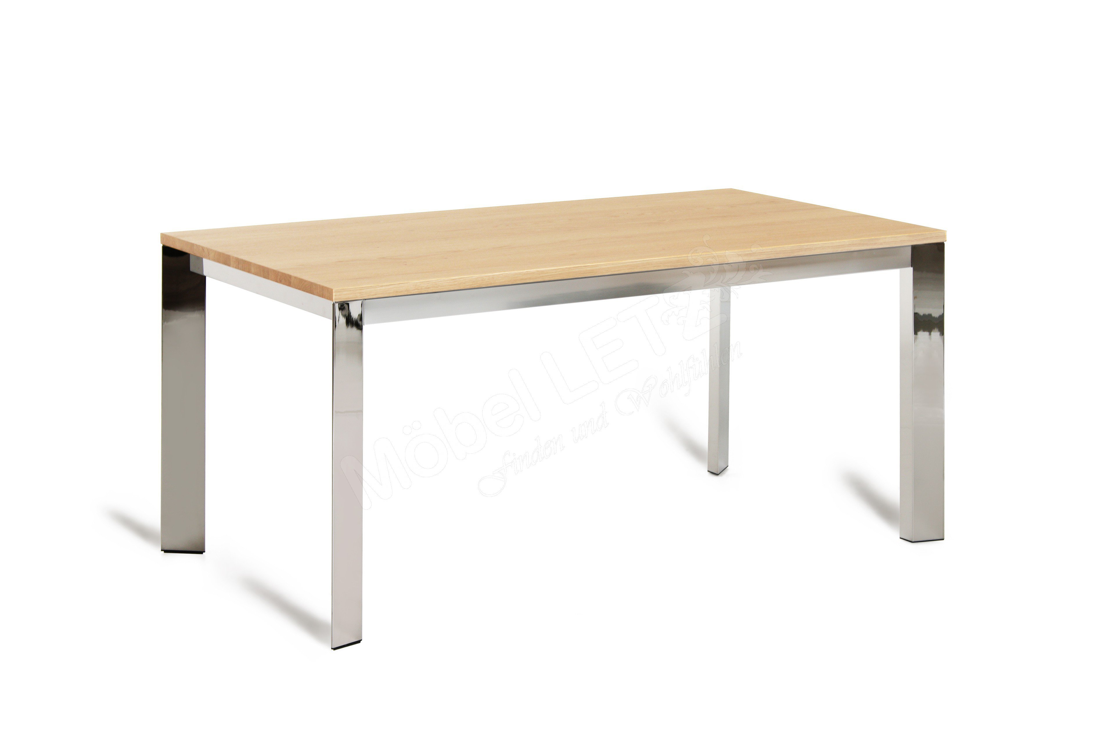 Connubia by calligaris esstisch baron eiche metall for Calligaris outlet on line