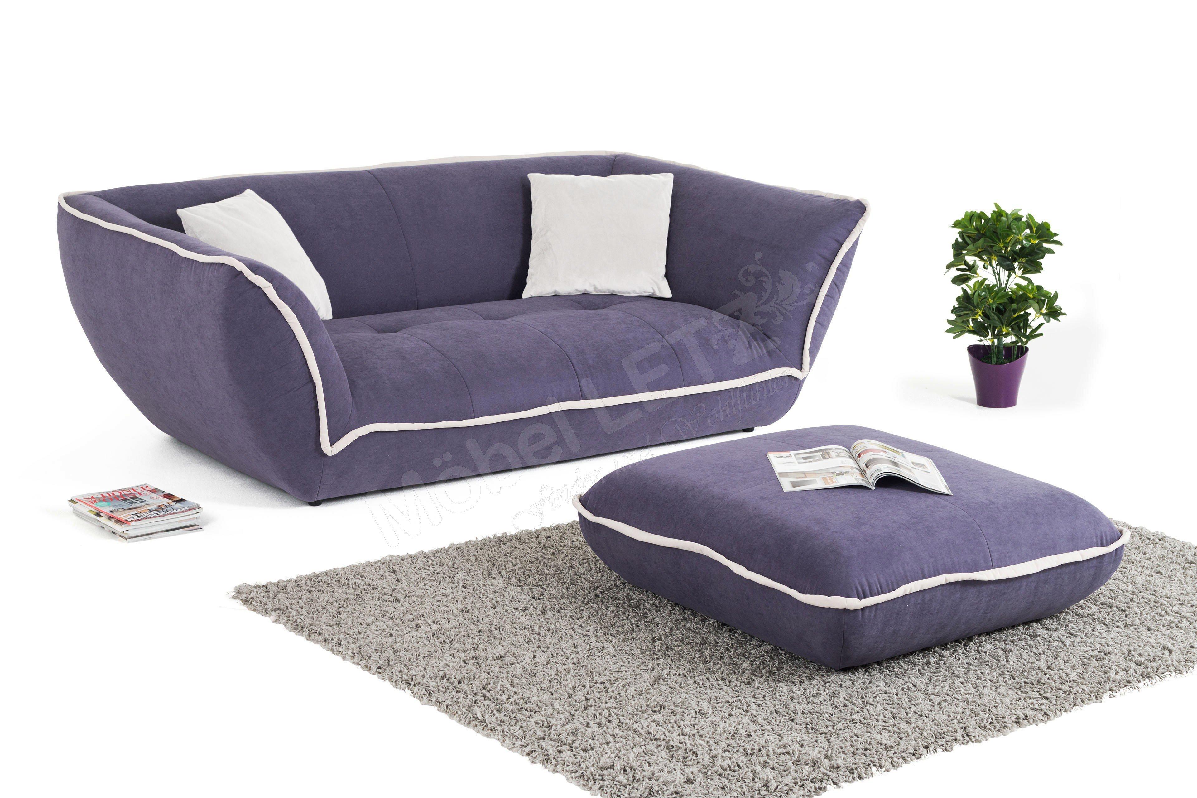 new look m bel speed megasofa lila beige m bel letz ihr online shop. Black Bedroom Furniture Sets. Home Design Ideas