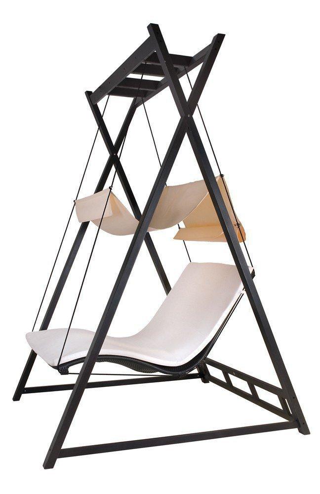 MBM Objekt Doppelliege Heaven Swing mocca | Möbel Letz - Ihr Online-Shop
