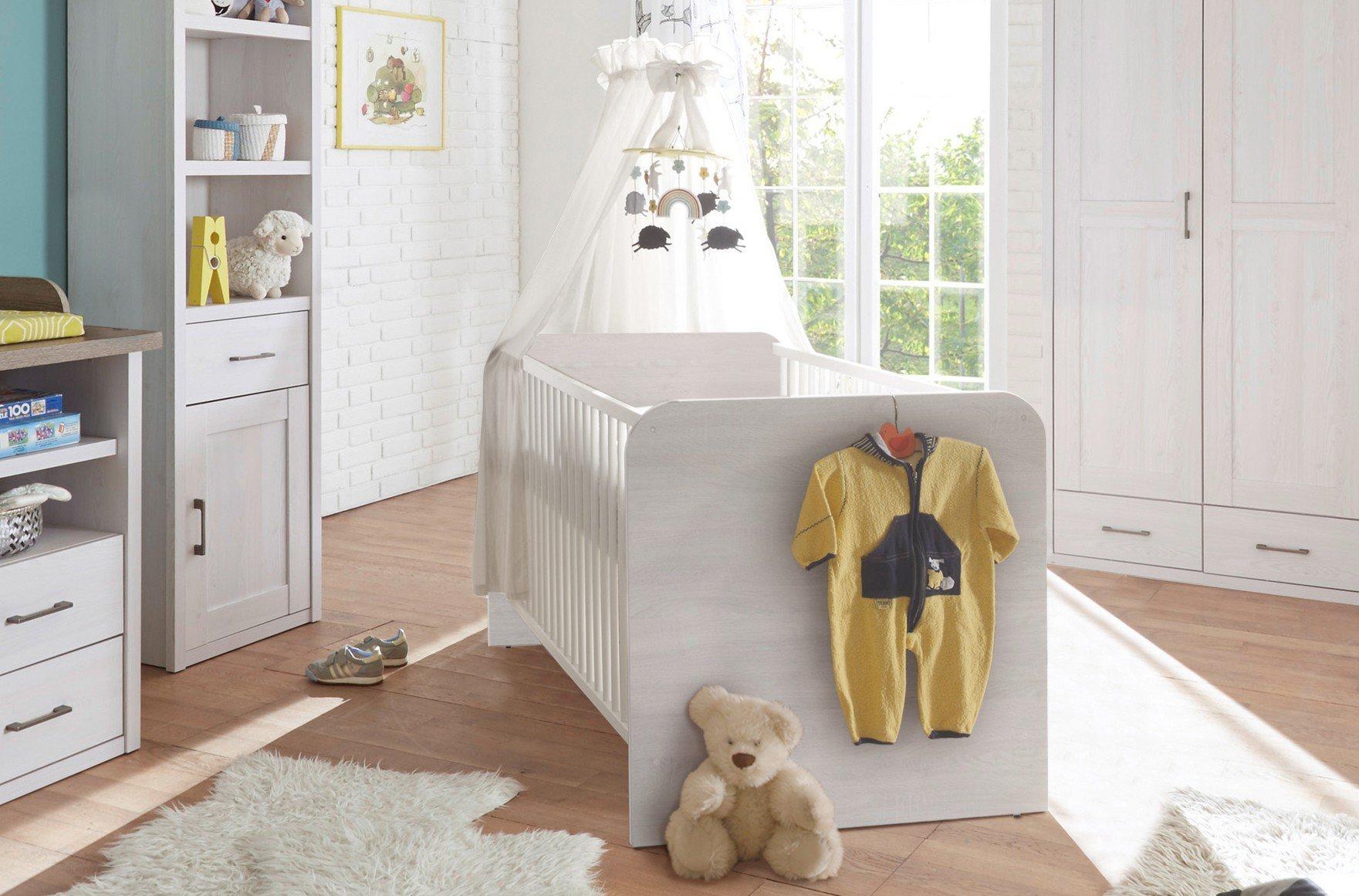 babybett corner pinie nachbildung von pol power m bel. Black Bedroom Furniture Sets. Home Design Ideas