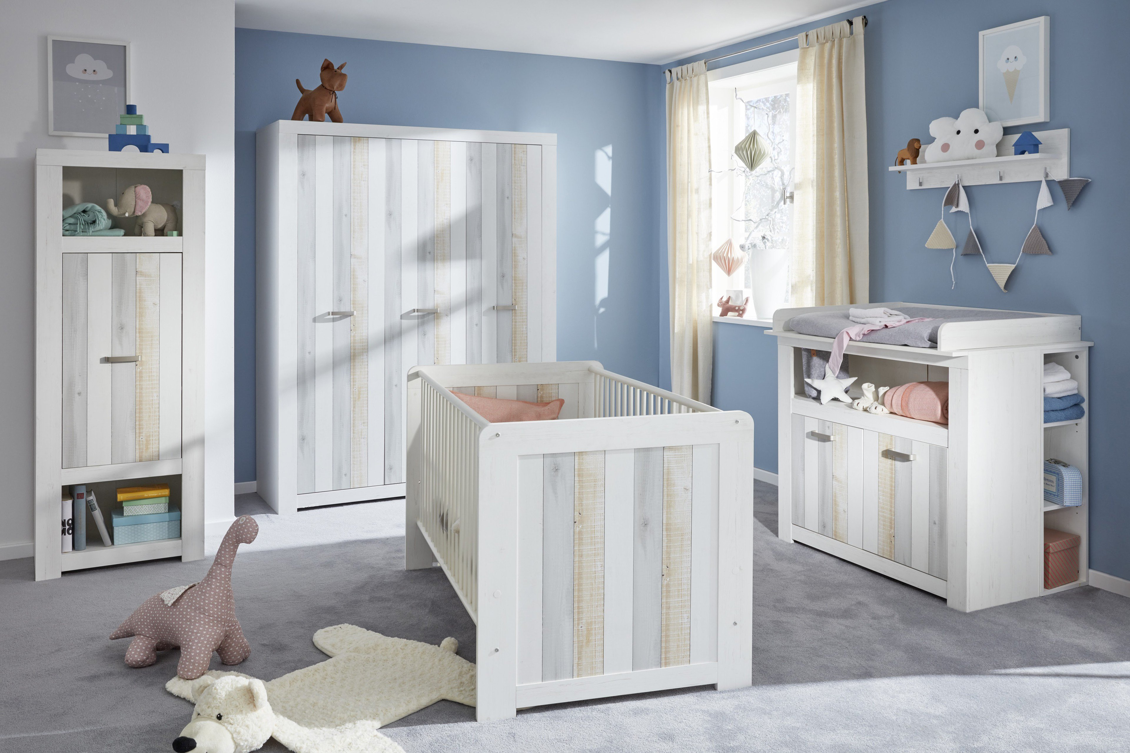 trendteam joshua babyzimmer 4 teilig m bel letz ihr online shop. Black Bedroom Furniture Sets. Home Design Ideas