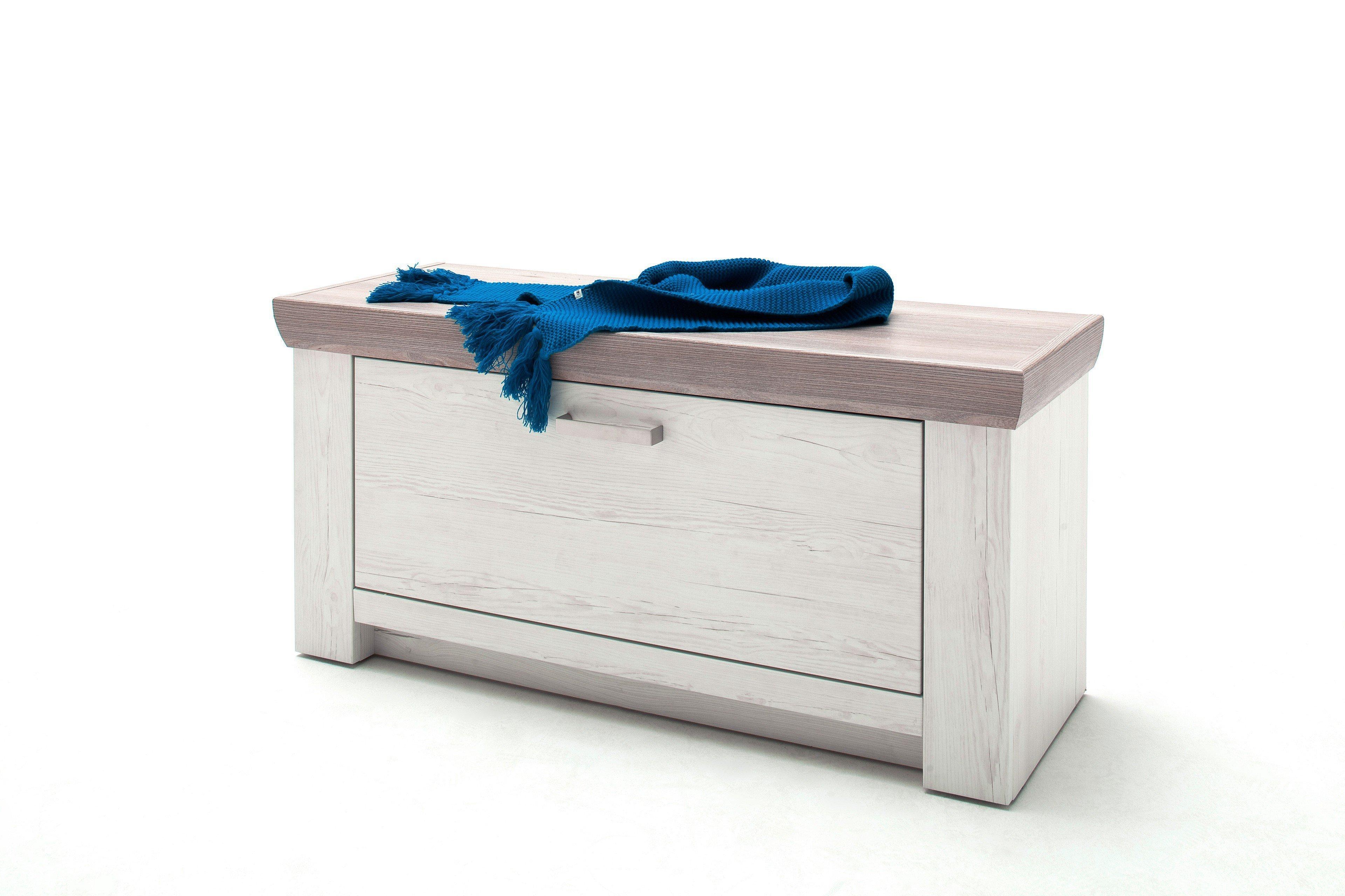 e4a2fe10533e50 Garderobenbank Bozen Pinie Aurelio - MCA furniture