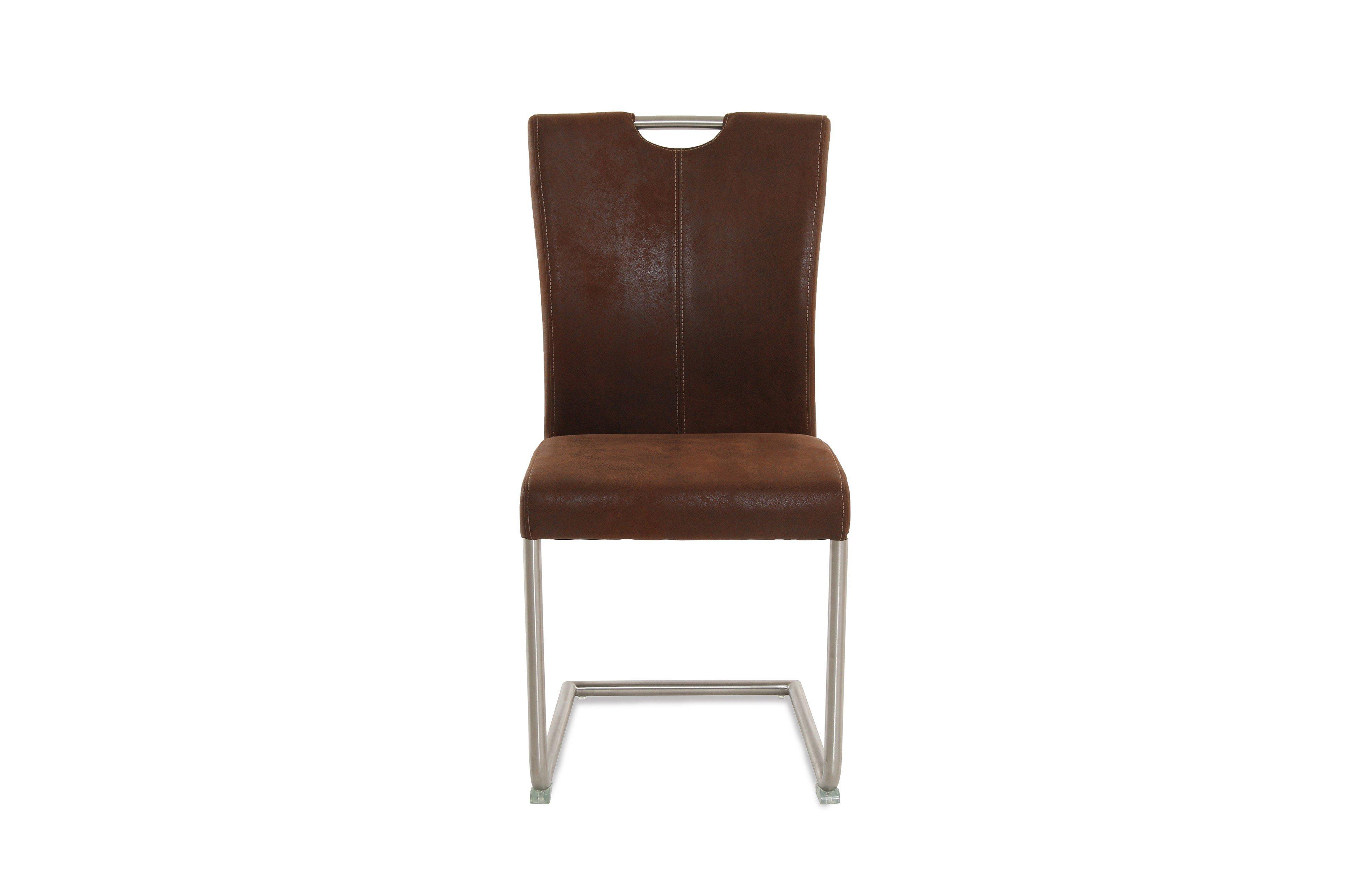 ldr stuhl larah 5070 braun edelstahl m bel letz ihr online shop. Black Bedroom Furniture Sets. Home Design Ideas