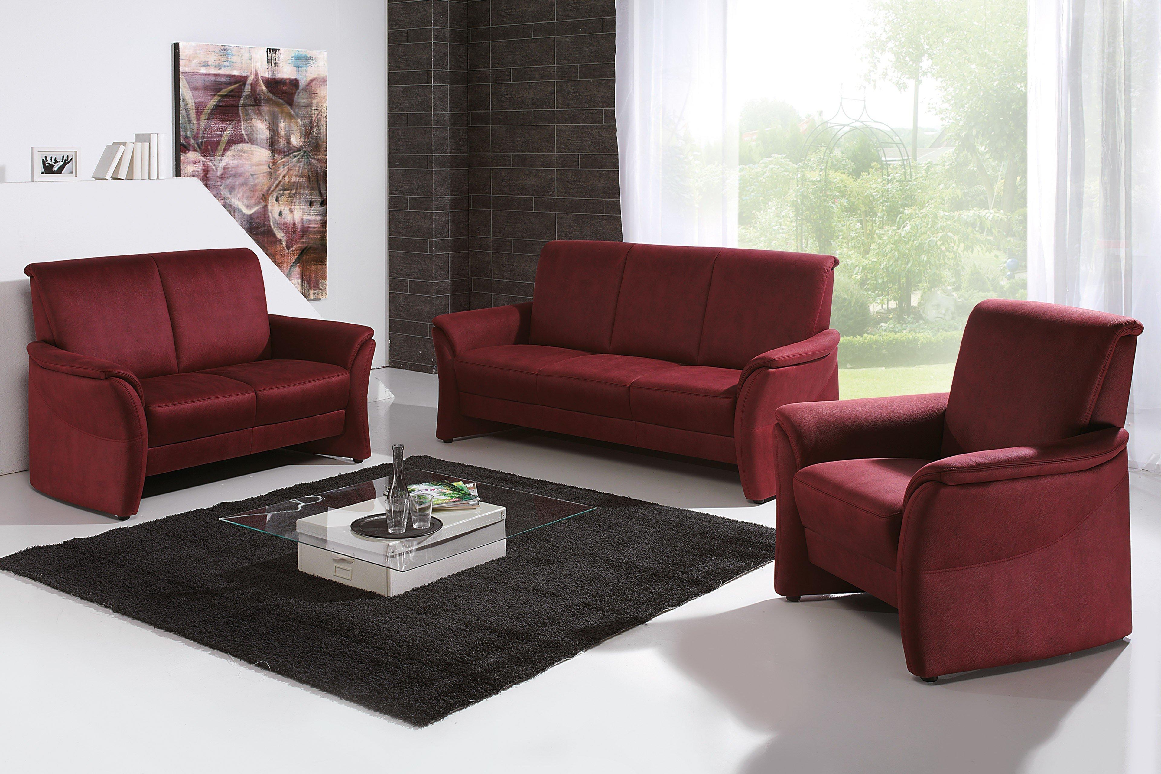 arco arosa polstergarnitur bordeaux m bel letz ihr. Black Bedroom Furniture Sets. Home Design Ideas