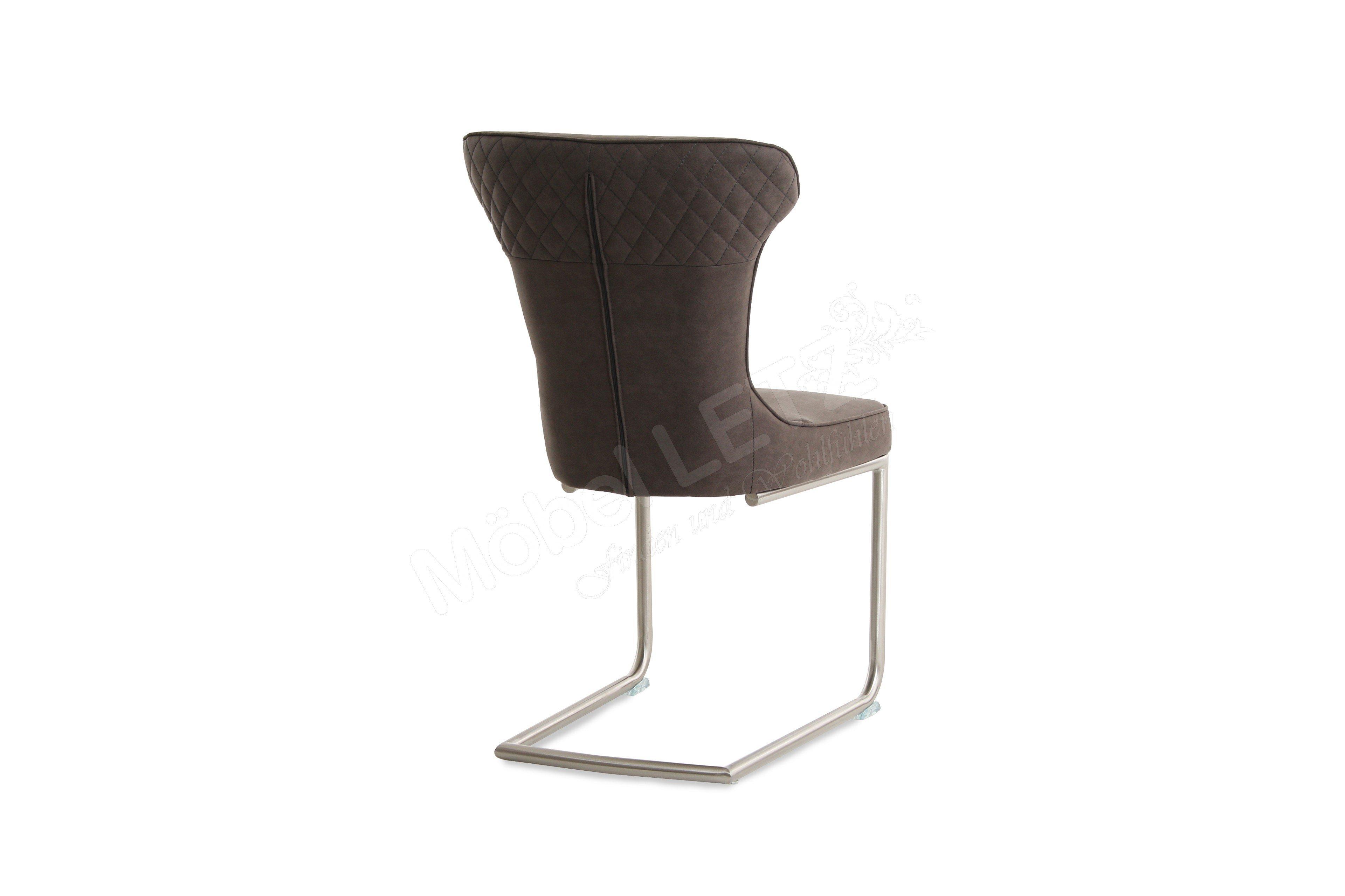 wohn gl ck lich stuhl noele 5081 anthrazit m bel letz. Black Bedroom Furniture Sets. Home Design Ideas