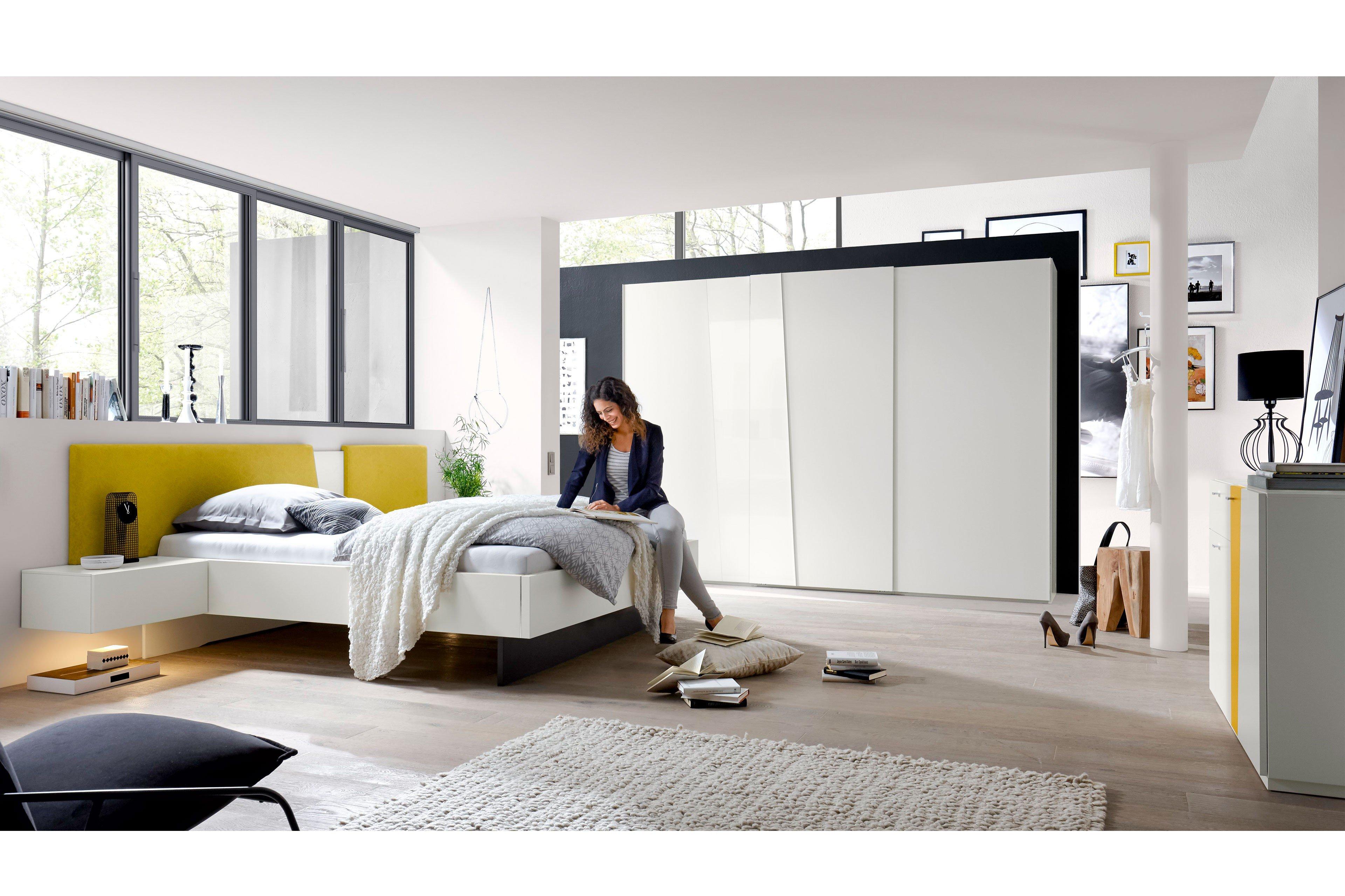 slash loddenkemper schlafzimmer wei gelb m bel letz ihr online shop. Black Bedroom Furniture Sets. Home Design Ideas
