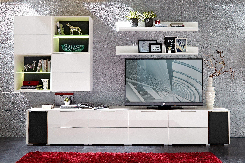 Median Von Innostyle   Wohnwand In Weiß