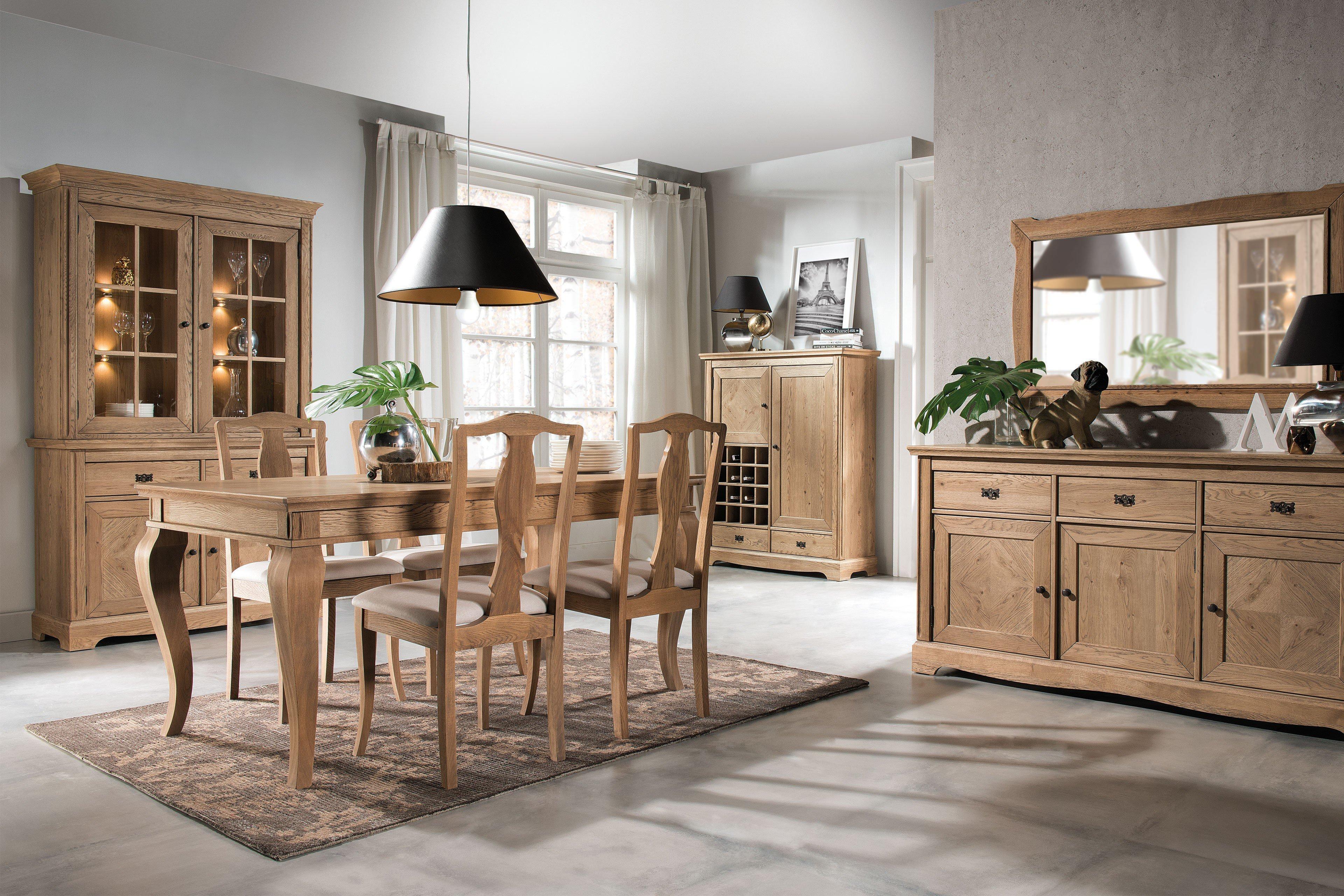 essgruppe atelie eiche beige aus der kollektion letz. Black Bedroom Furniture Sets. Home Design Ideas