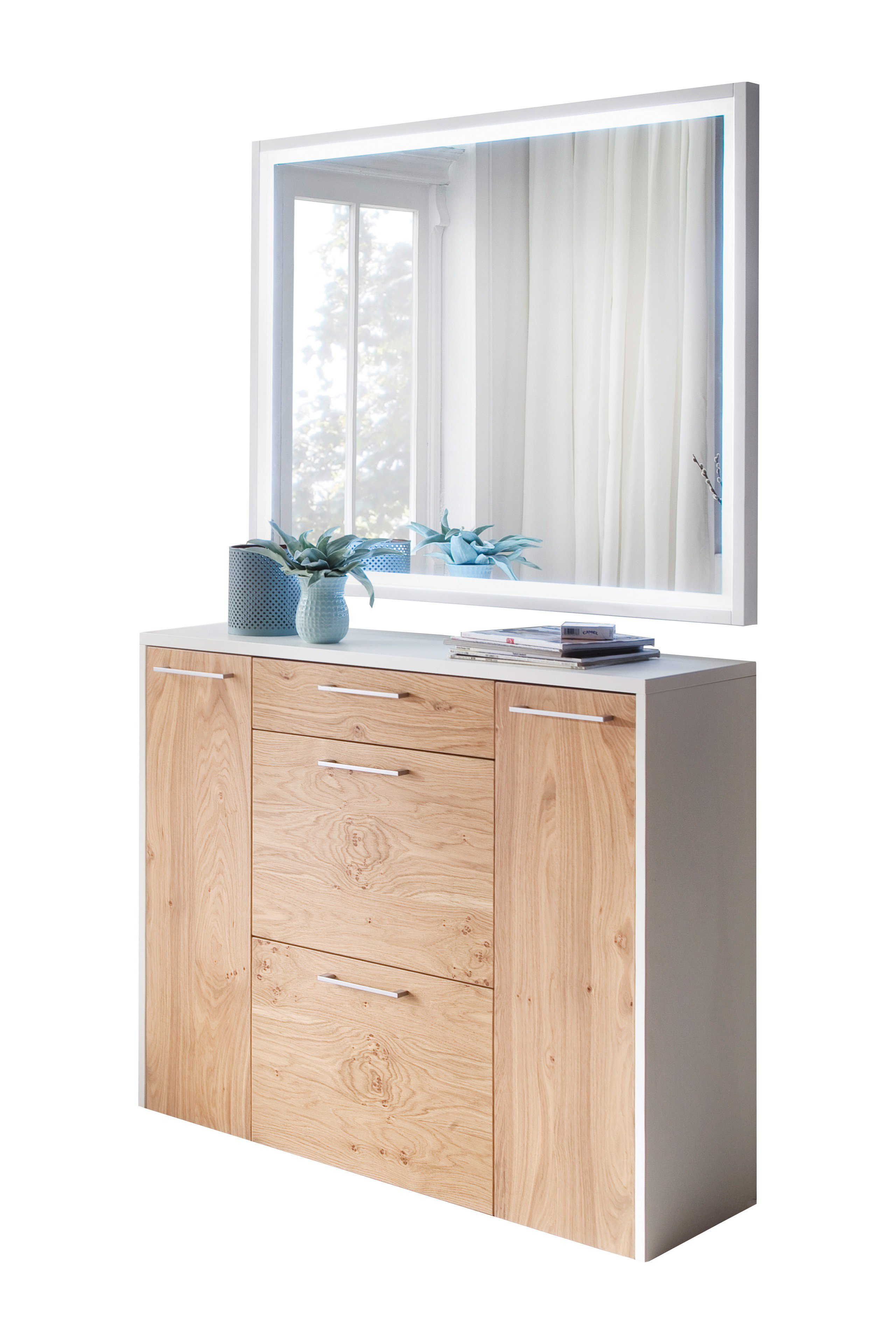 wittenbreder multi color wood wildeiche wei garderobe. Black Bedroom Furniture Sets. Home Design Ideas