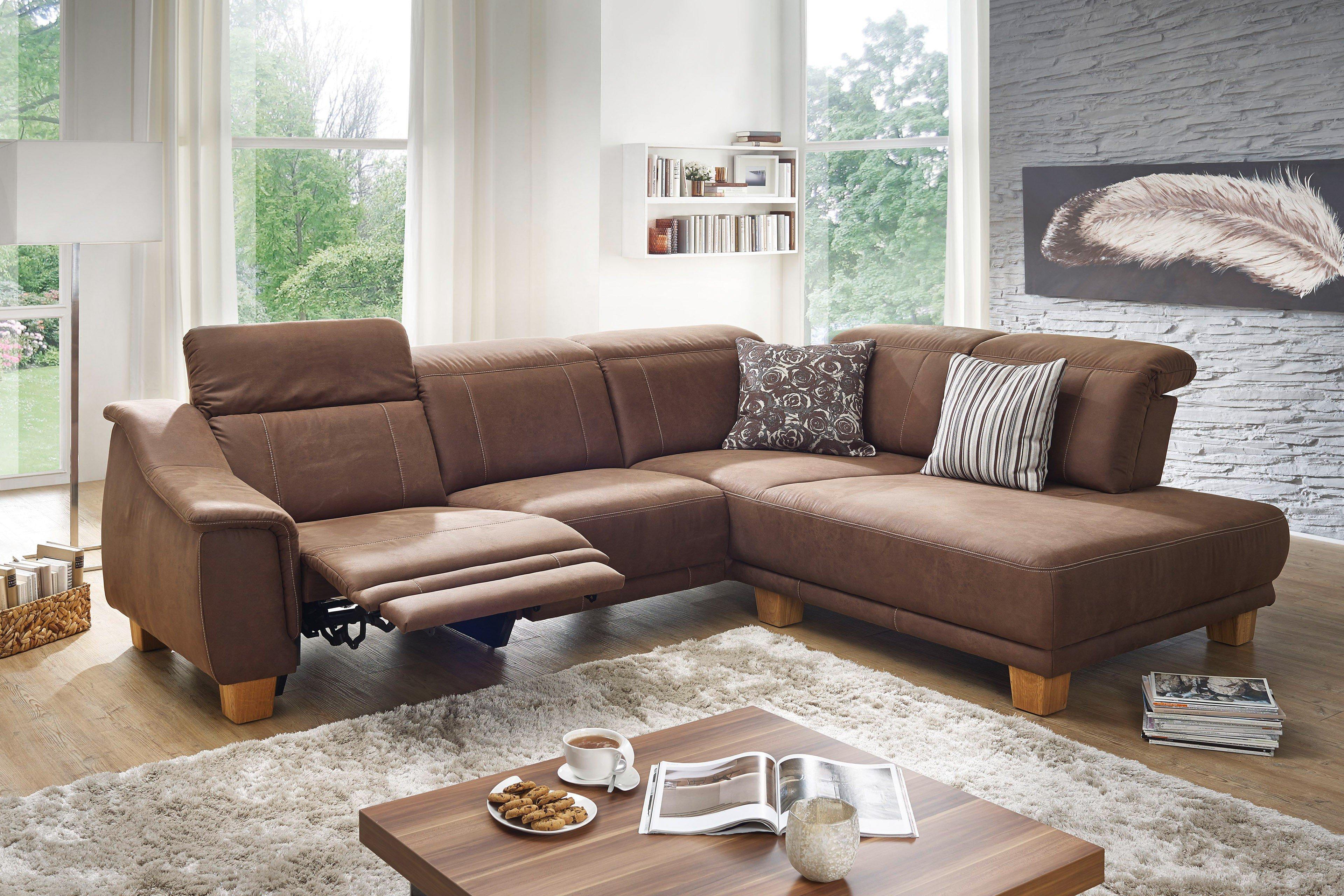 f s polsterm bel 260 messina eckgarnitur in braun m bel. Black Bedroom Furniture Sets. Home Design Ideas