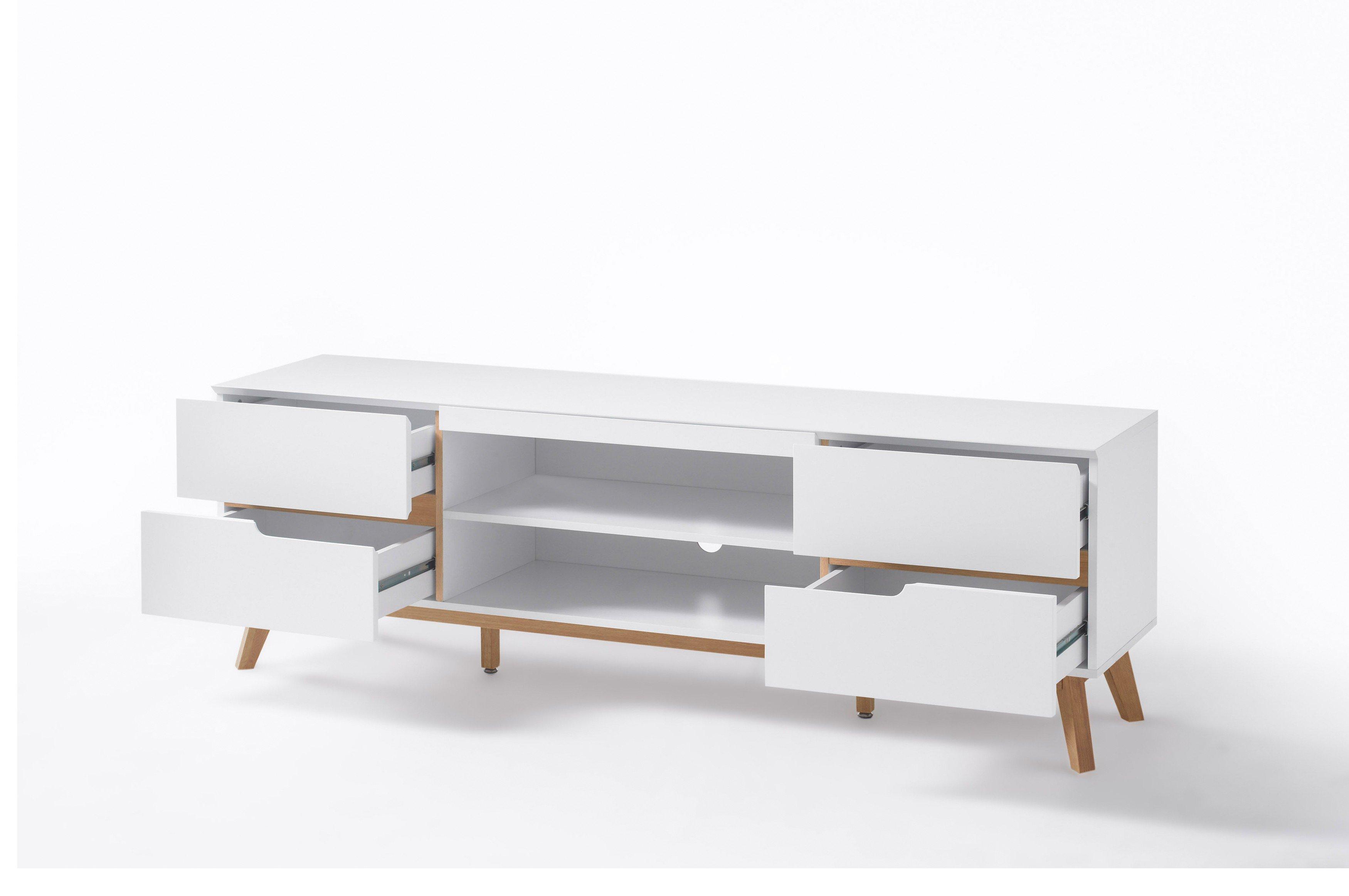 innostyle by mca cervo lowboard wei m bel letz ihr online shop. Black Bedroom Furniture Sets. Home Design Ideas