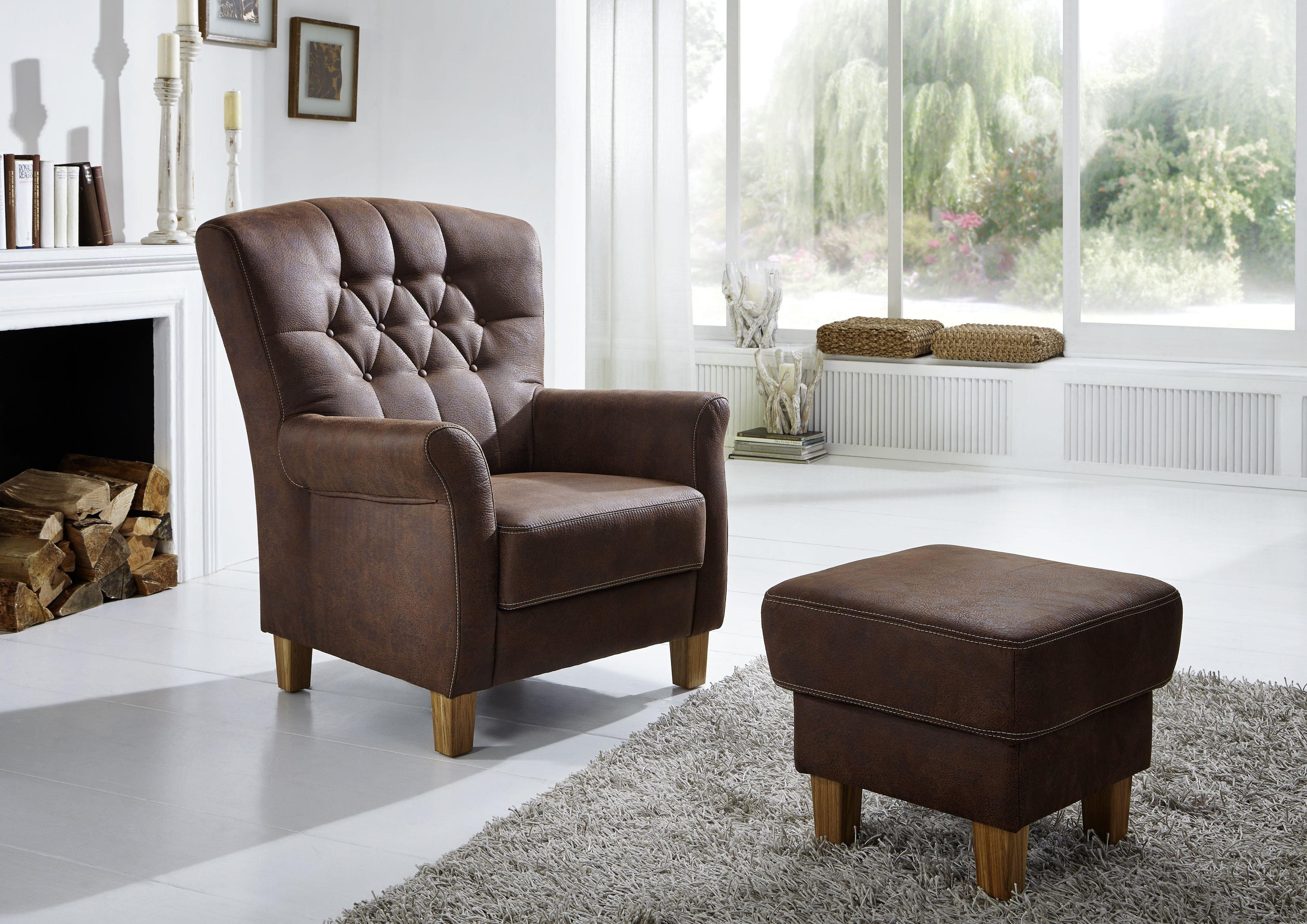 f s polsterm bel 753 hochlehnsessel in braun m bel letz ihr online shop. Black Bedroom Furniture Sets. Home Design Ideas
