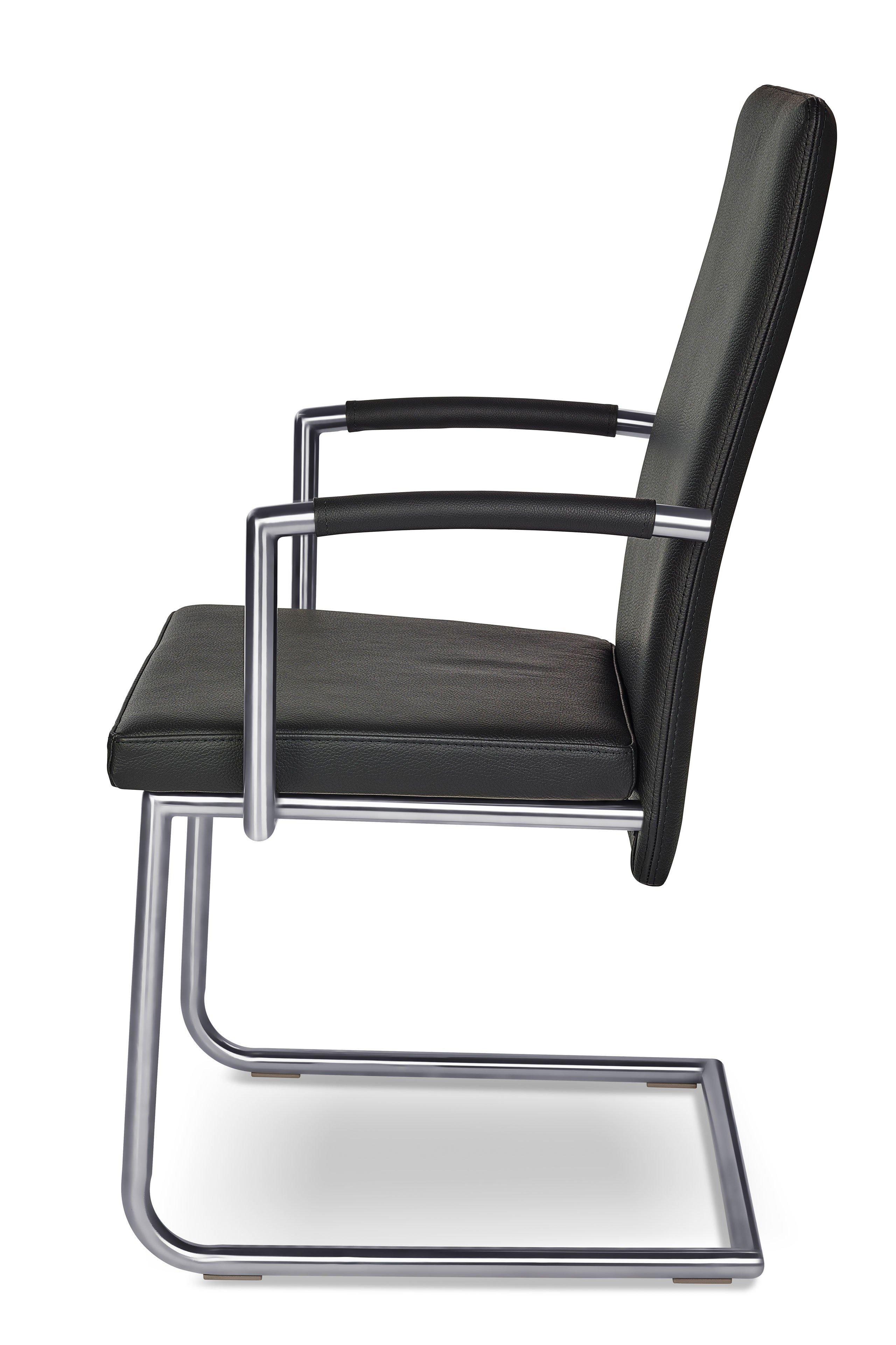ronald schmitt stuhl rst 172 leder schwarz m bel letz ihr online shop. Black Bedroom Furniture Sets. Home Design Ideas