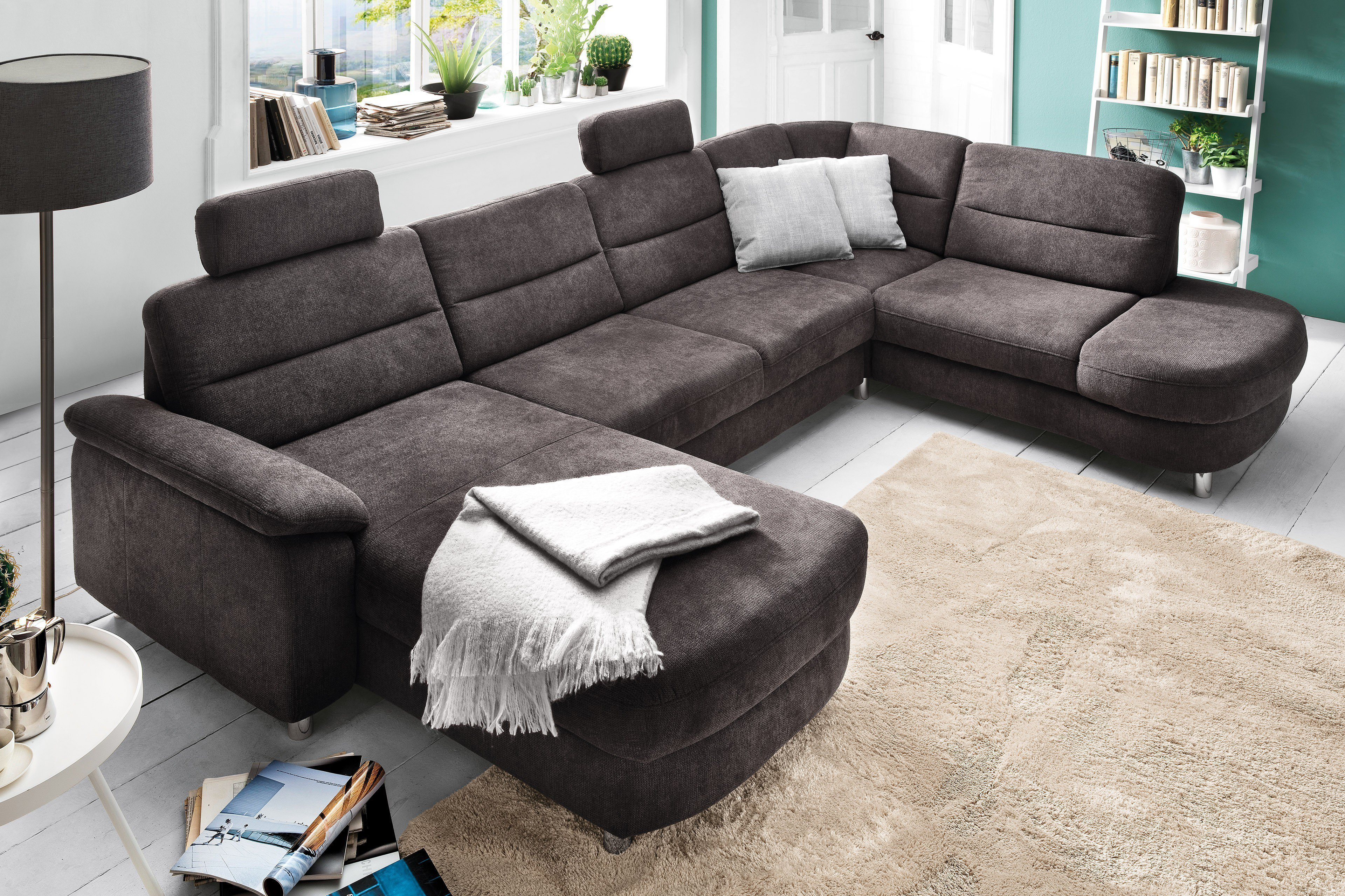 Sit More Home Basic Delano Wohnlandschaft Grau Mobel Letz Ihr