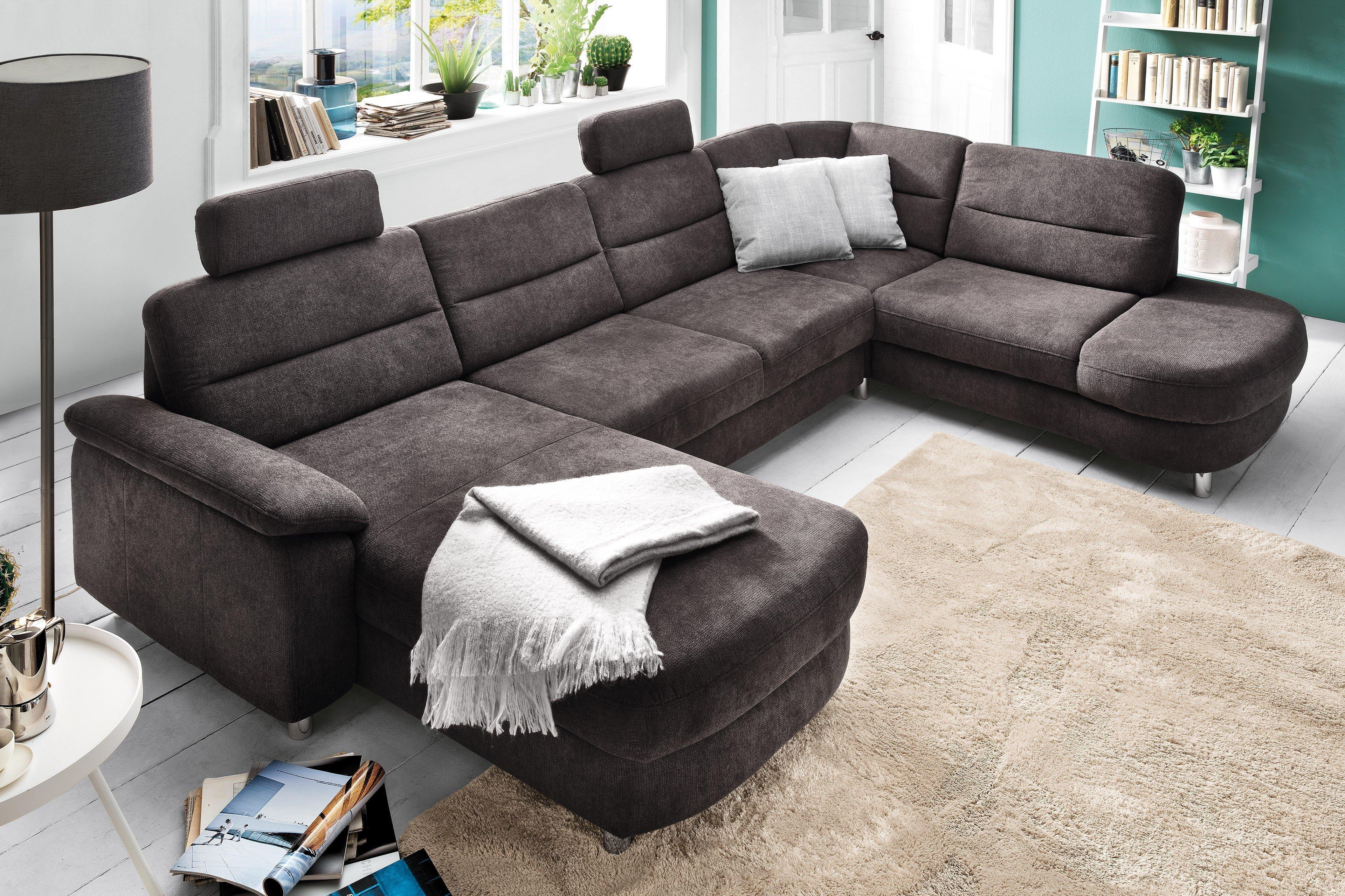 sit more delano wohnlandschaft grau m bel letz ihr online shop. Black Bedroom Furniture Sets. Home Design Ideas