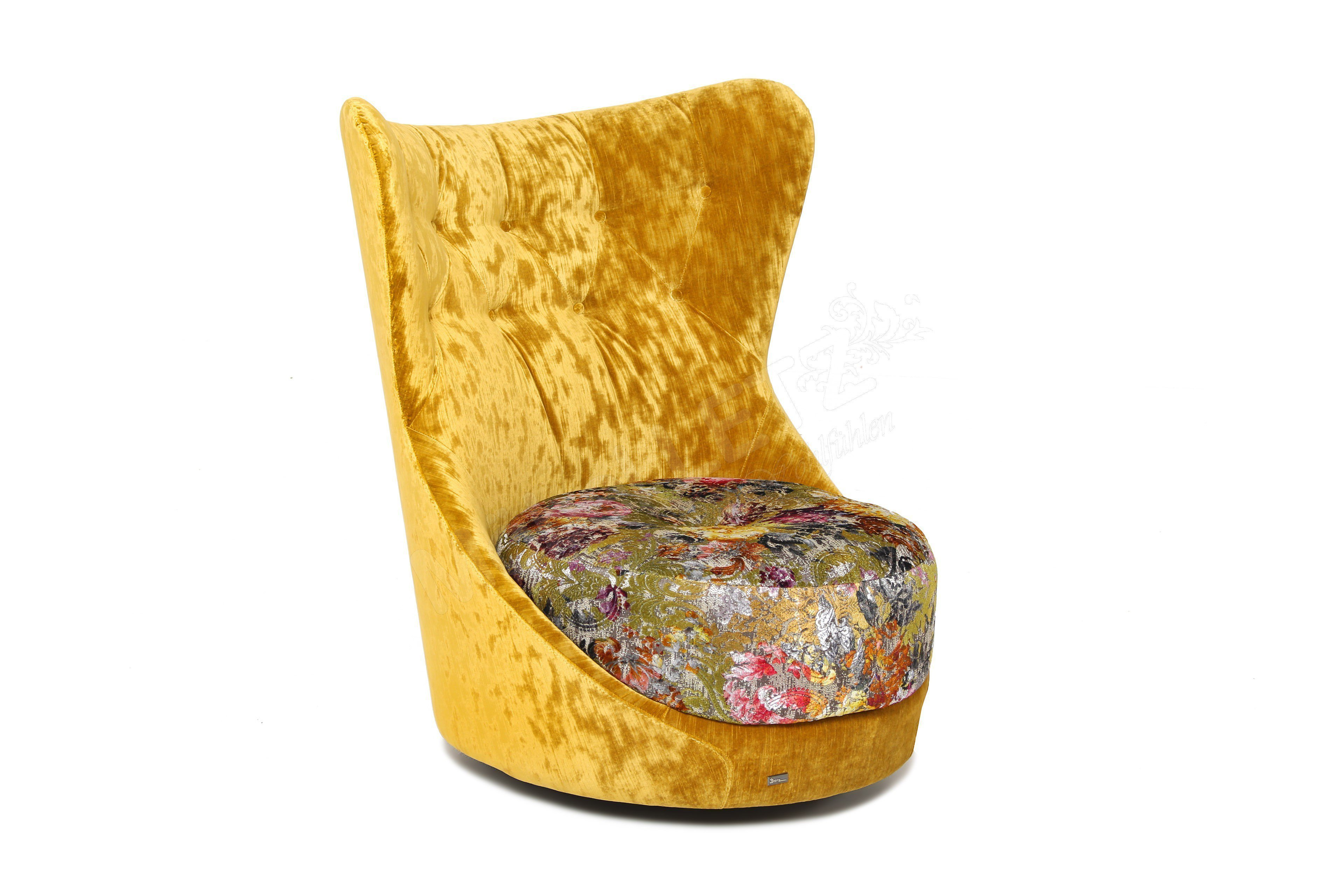 bretz cocoa island chair sessel in gold gr n m bel letz ihr online shop. Black Bedroom Furniture Sets. Home Design Ideas