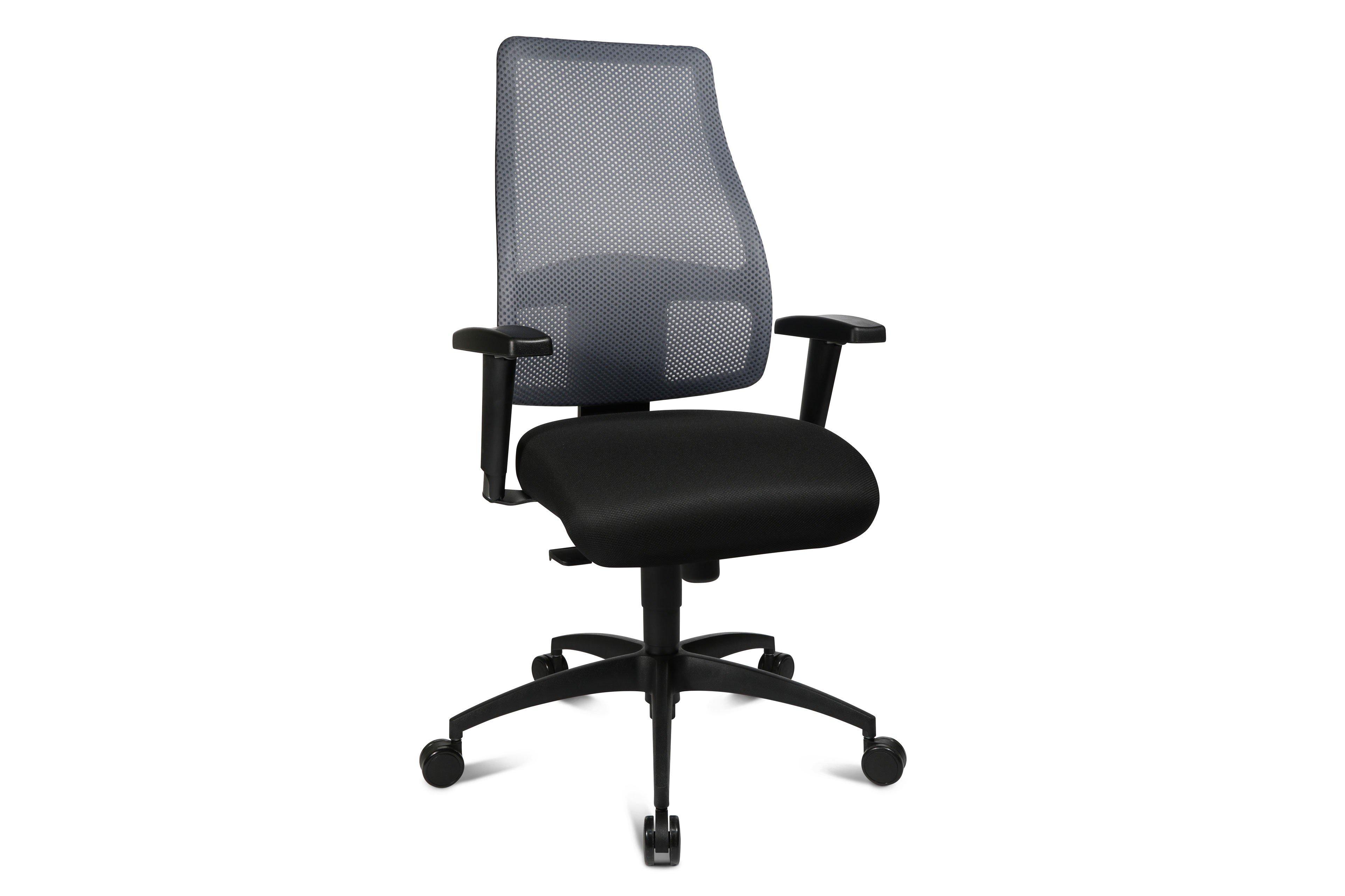 Topstar Drehstuhl Linea Comfort grau/ schwarz   Möbel Letz - Ihr ...